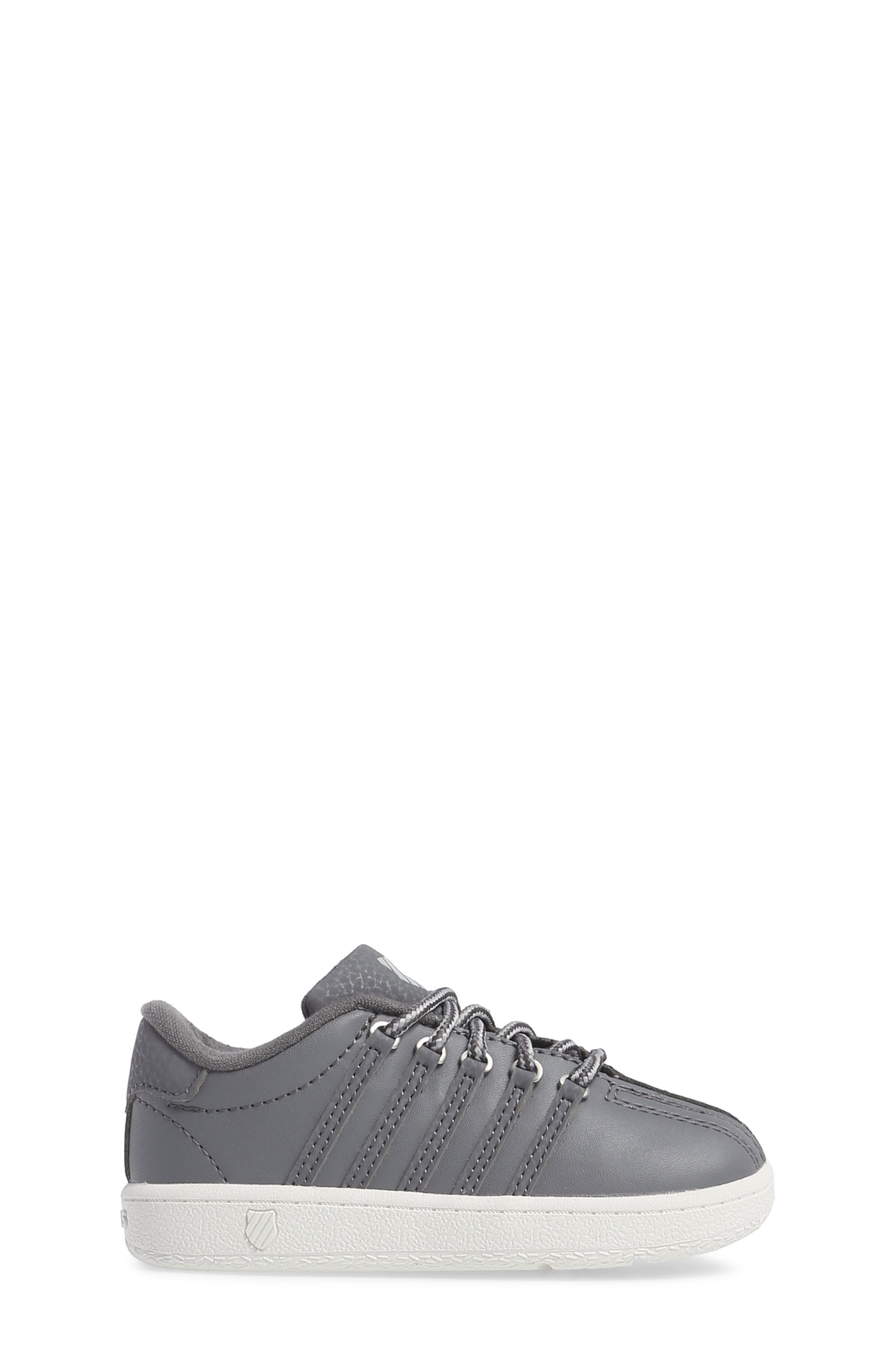Classic VN Sneaker,                             Alternate thumbnail 3, color,                             Charcoal/ Storm/ Lily White