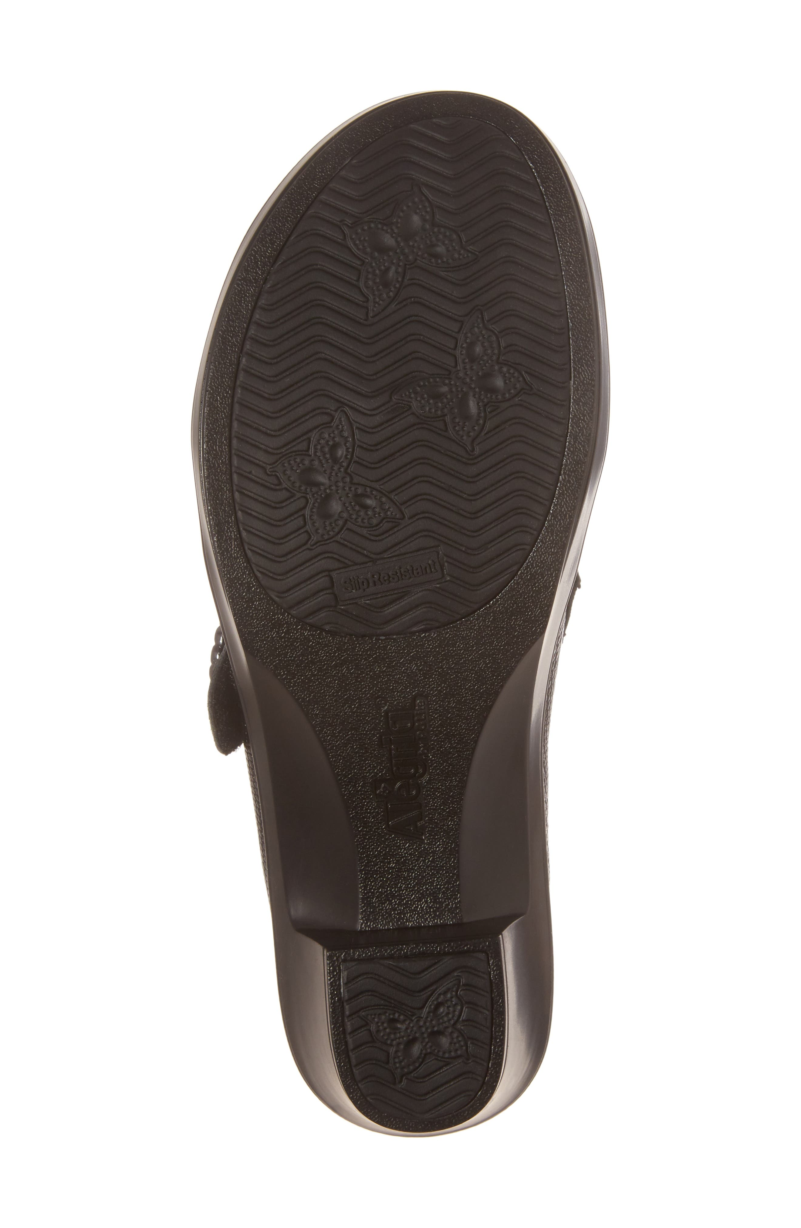 Holli Pump,                             Alternate thumbnail 6, color,                             Spiffy Black Leather