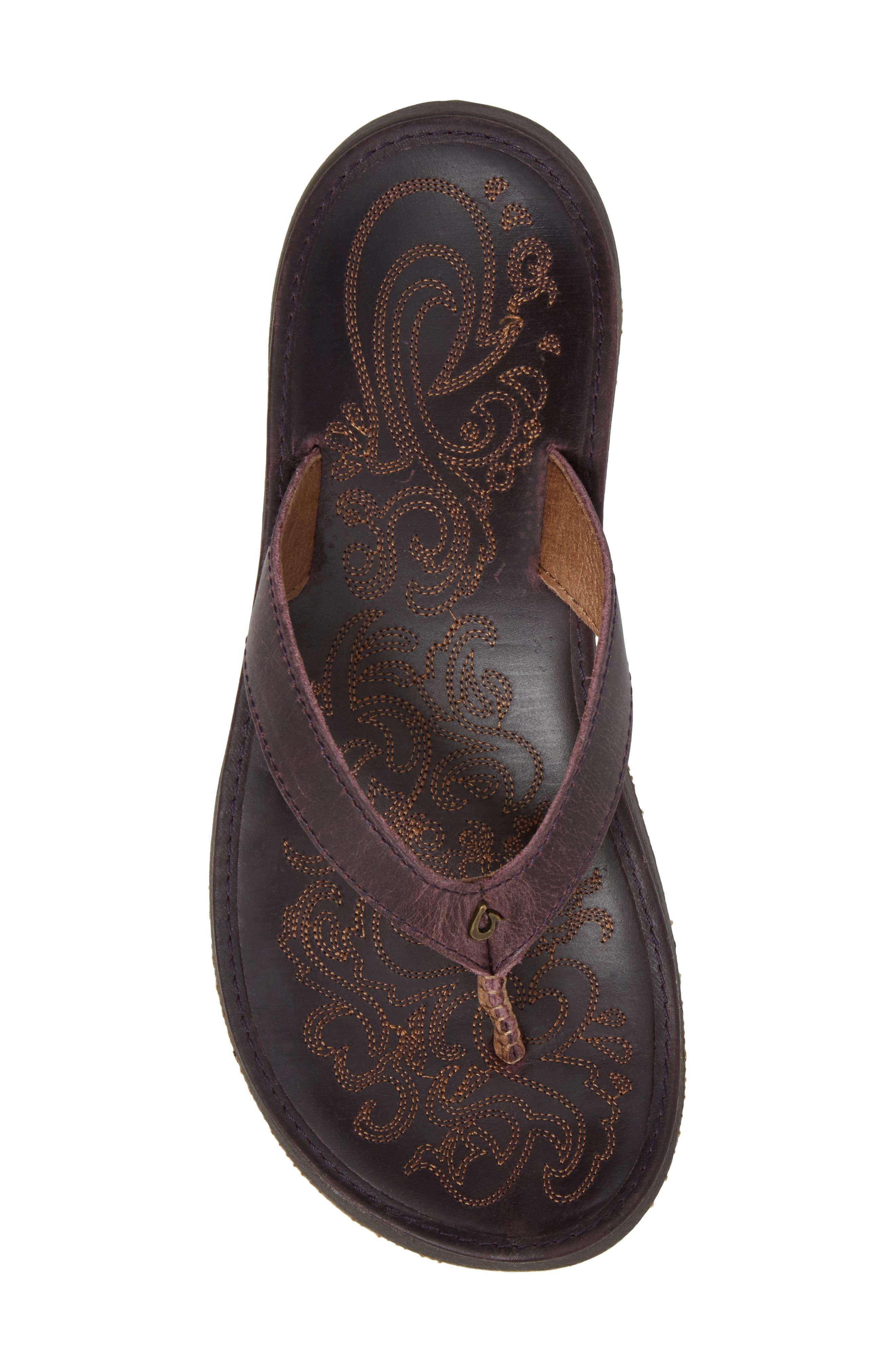 Alternate Image 5  - OluKai 'Paniolo' Thong Sandal