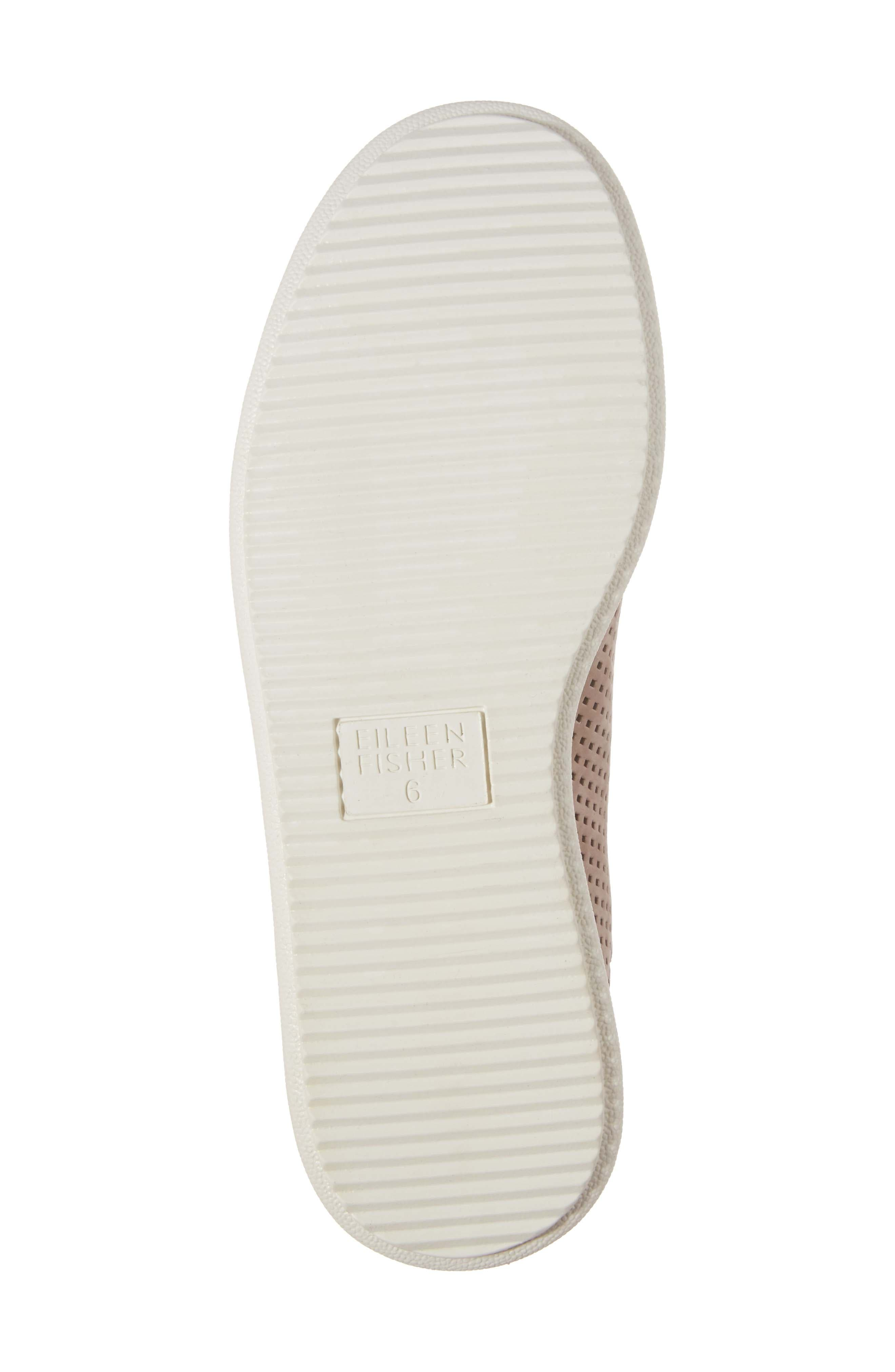 Clifton Perforated Sneaker,                             Alternate thumbnail 6, color,                             Earth Perforated Leather