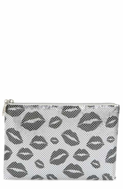 b3b5b6bb117 Whiting & Davis Kisses Metallic Clutch