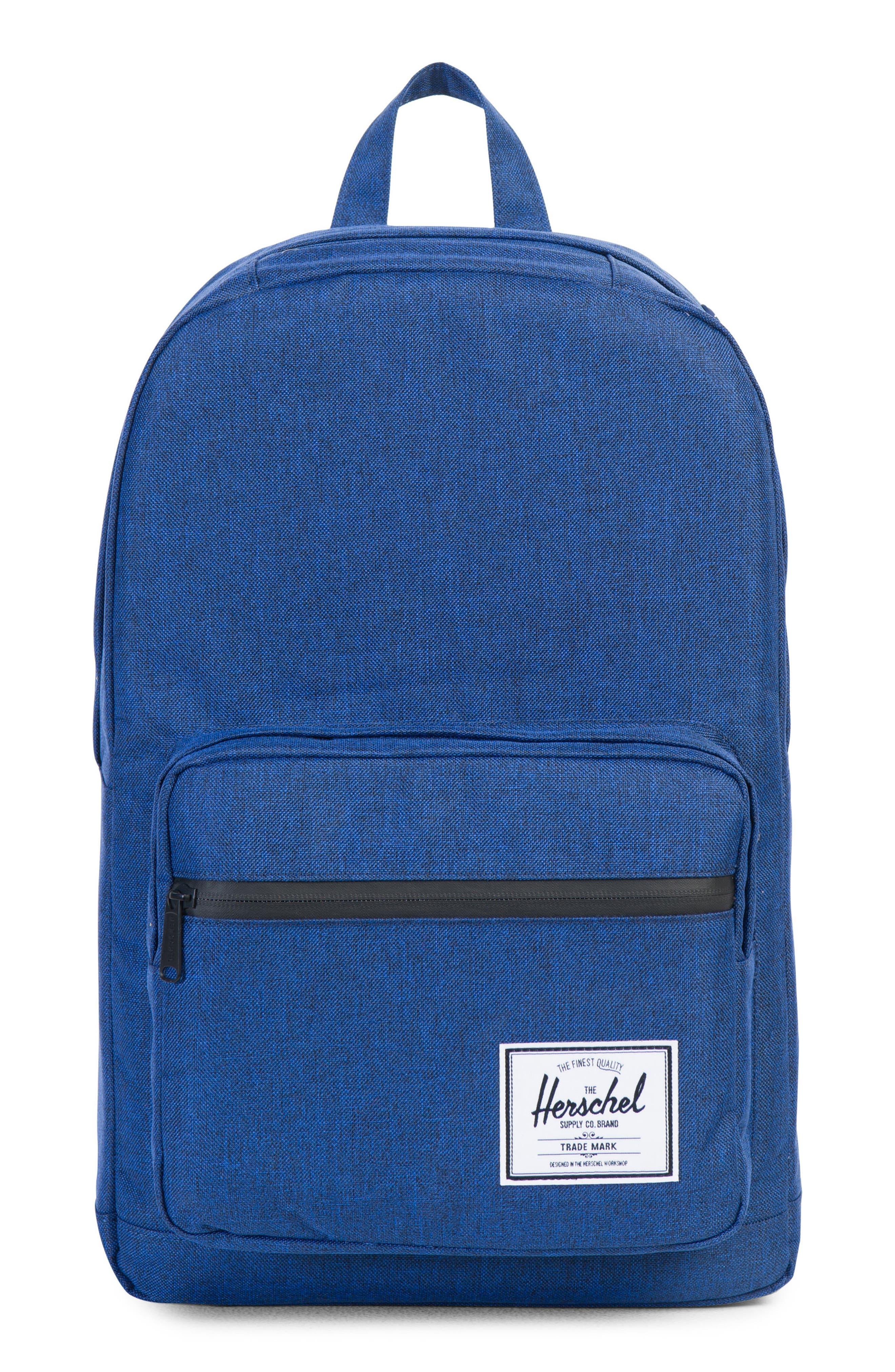 Pop Quiz Backpack,                         Main,                         color, Eclipse Crosshatch