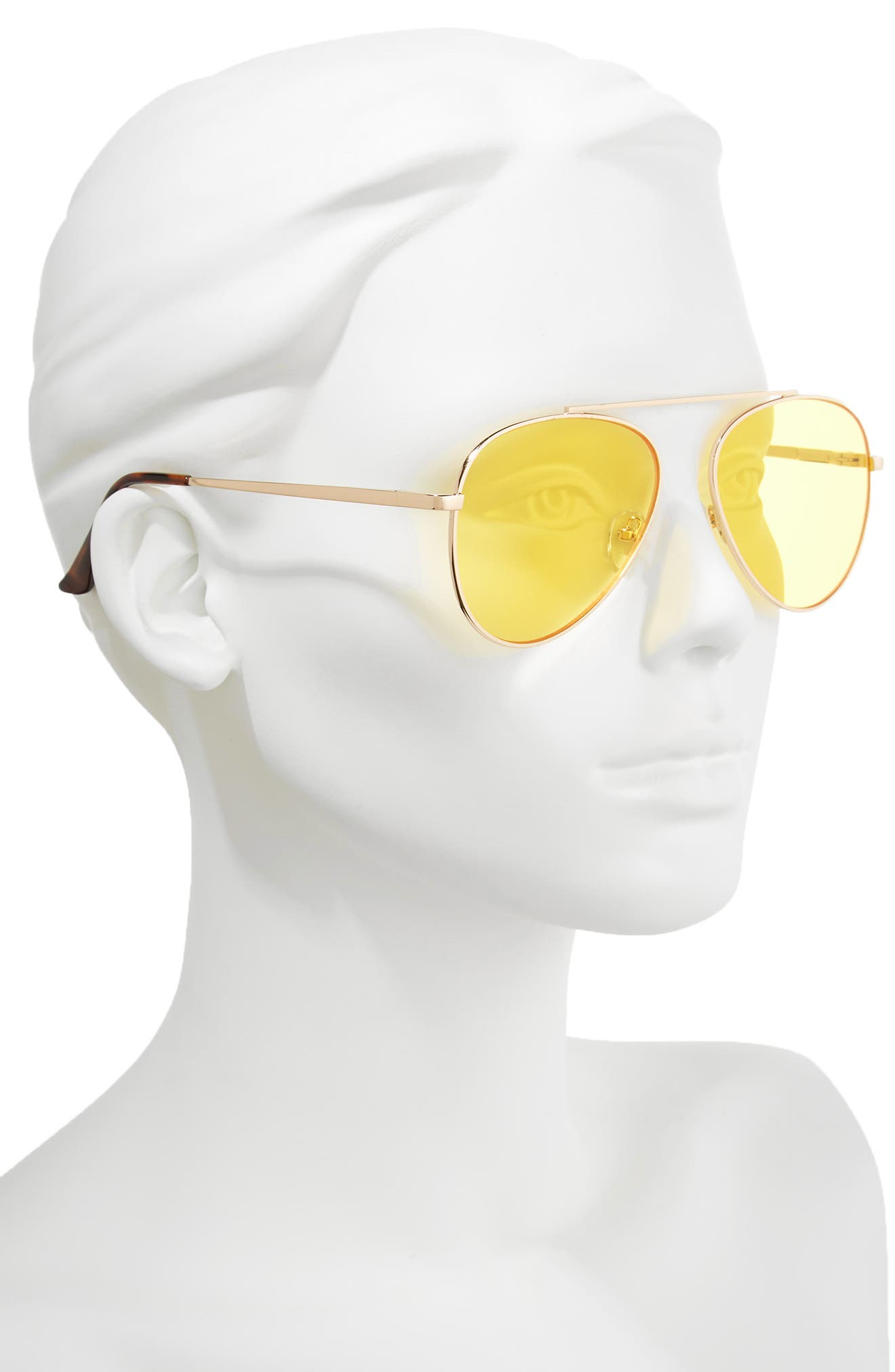 Alternate Image 2  - Circus by Sam Edelman 58mm Aviator Sunglasses