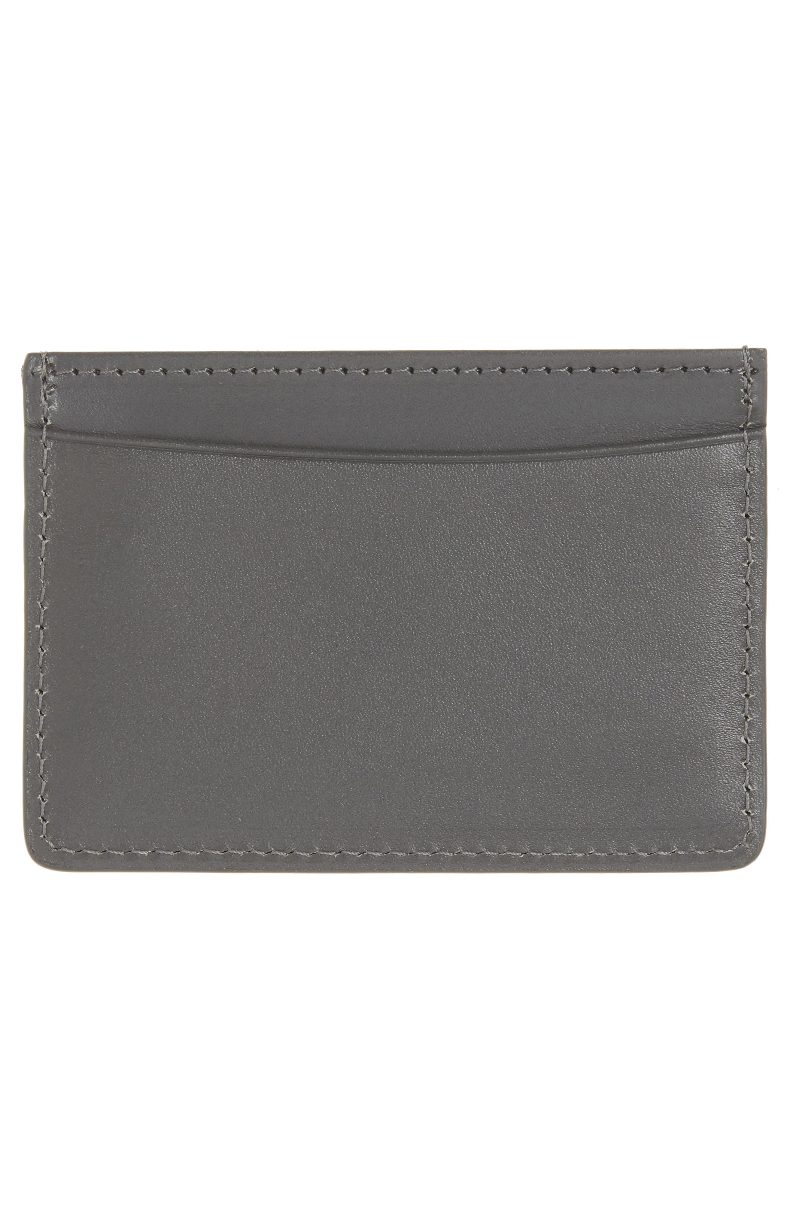 Alternate Image 2  - A.P.C. Andre Leather Card Case