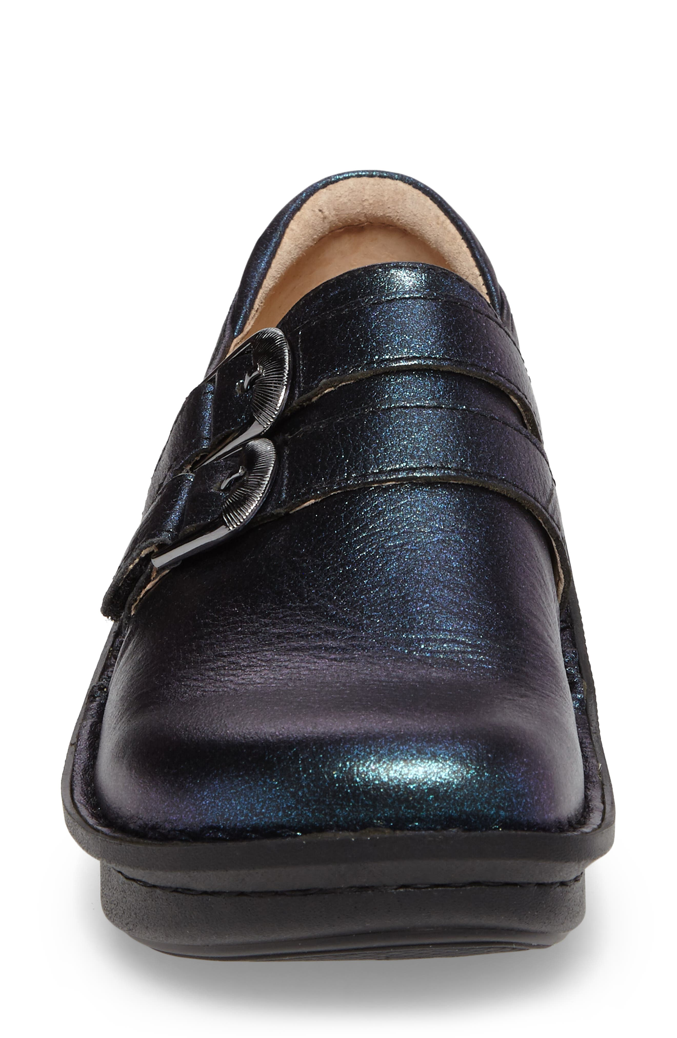 'Alli' Loafer,                             Alternate thumbnail 4, color,                             Starlit Leather