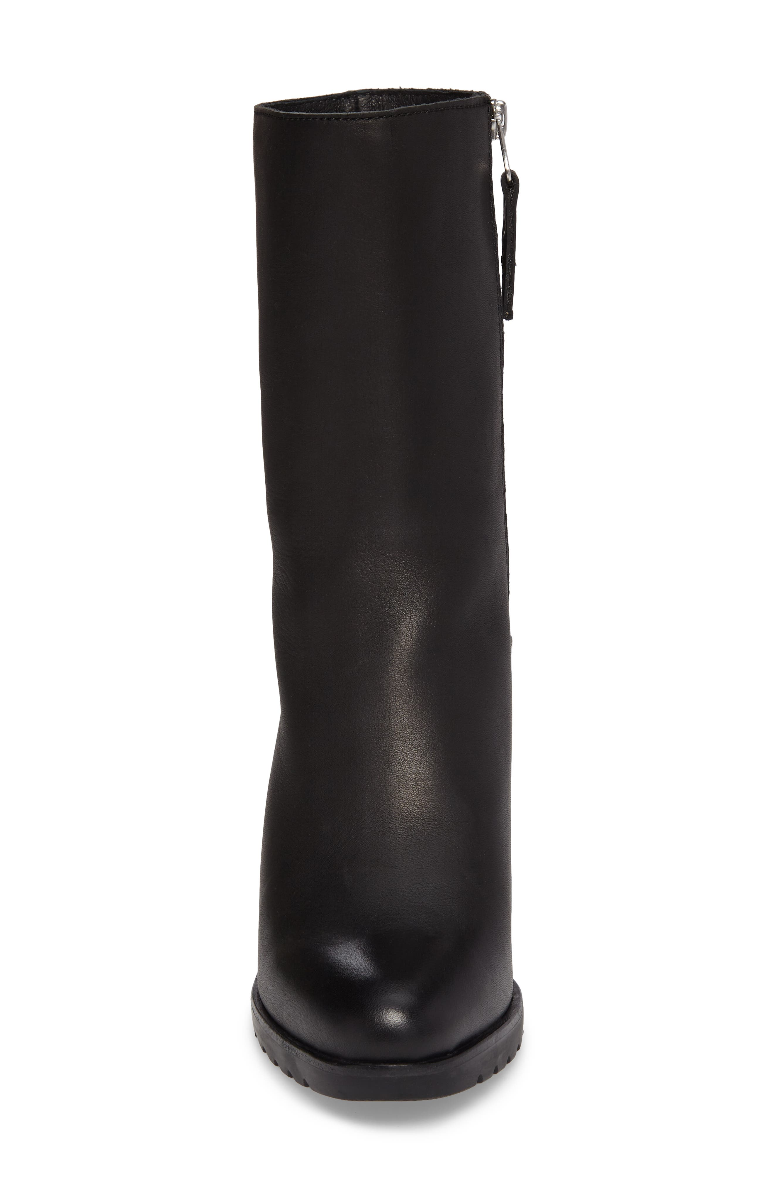After Hours Waterproof Bootie,                             Alternate thumbnail 4, color,                             Black
