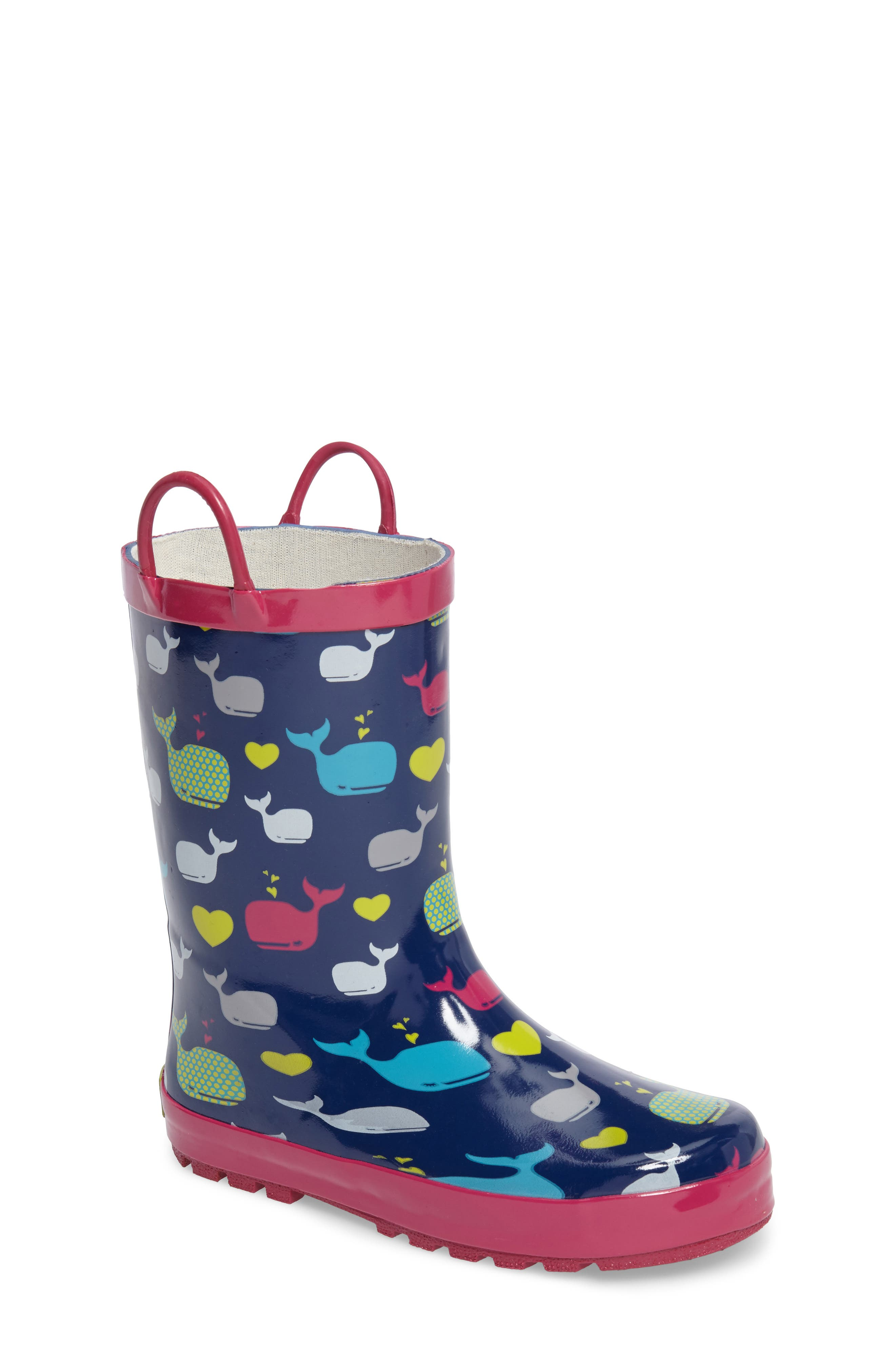 Western Chief Whales Rain Boot (Toddler, Little Kid & Big Kid)