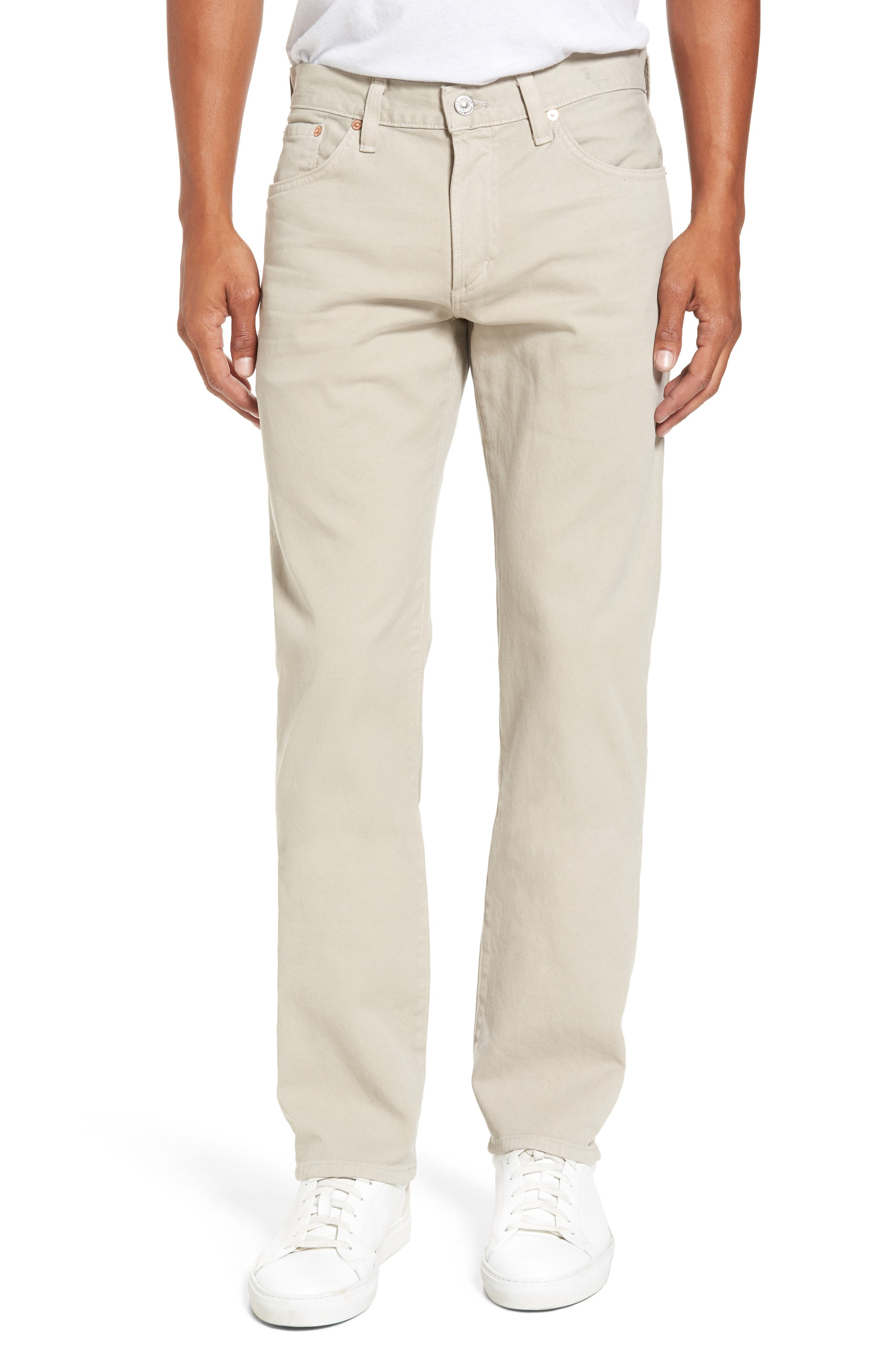 Citizens of Humanity Core Slim Fit Jeans (Parchment)