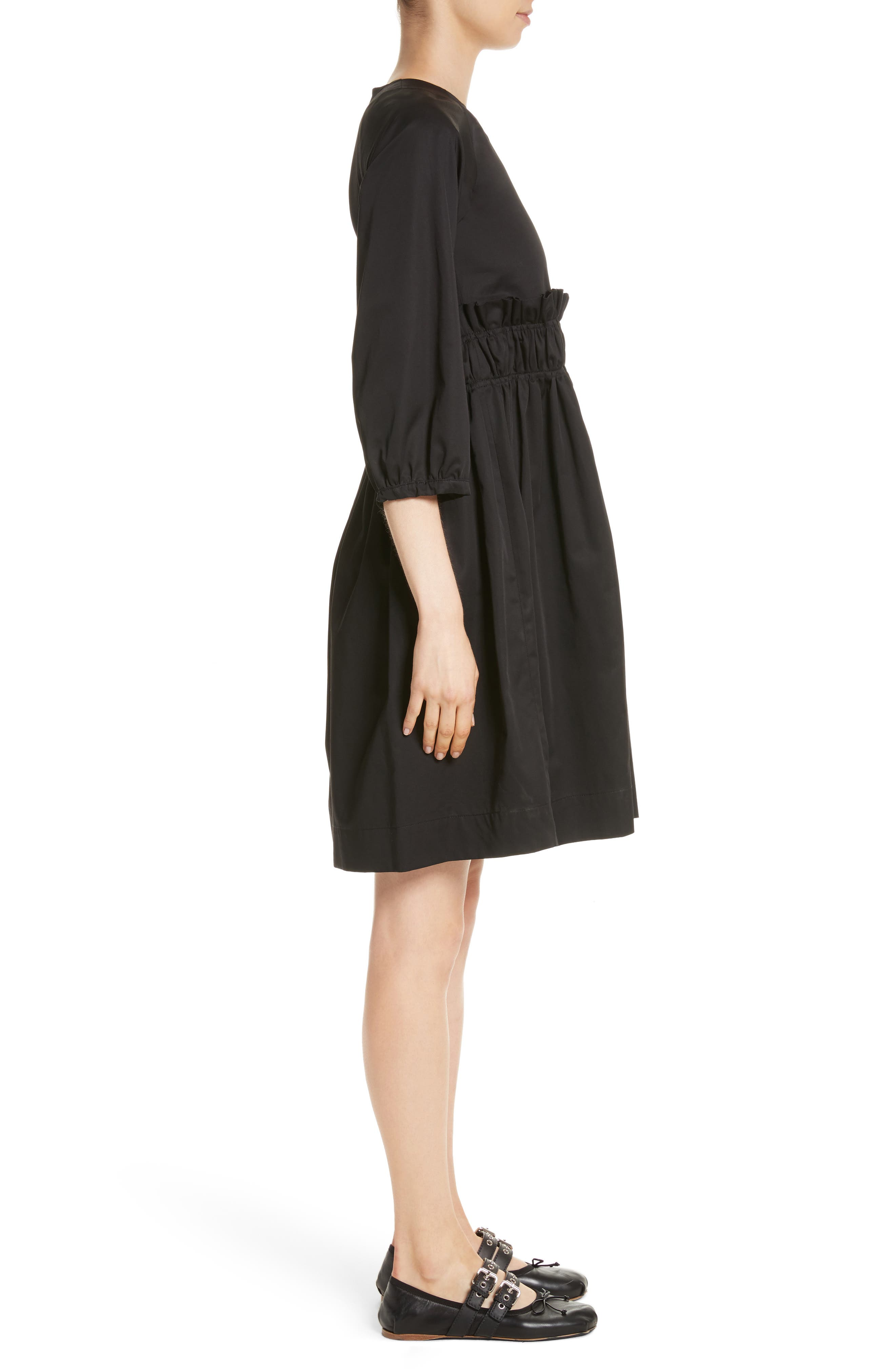 Blake Dress,                             Alternate thumbnail 3, color,                             Black