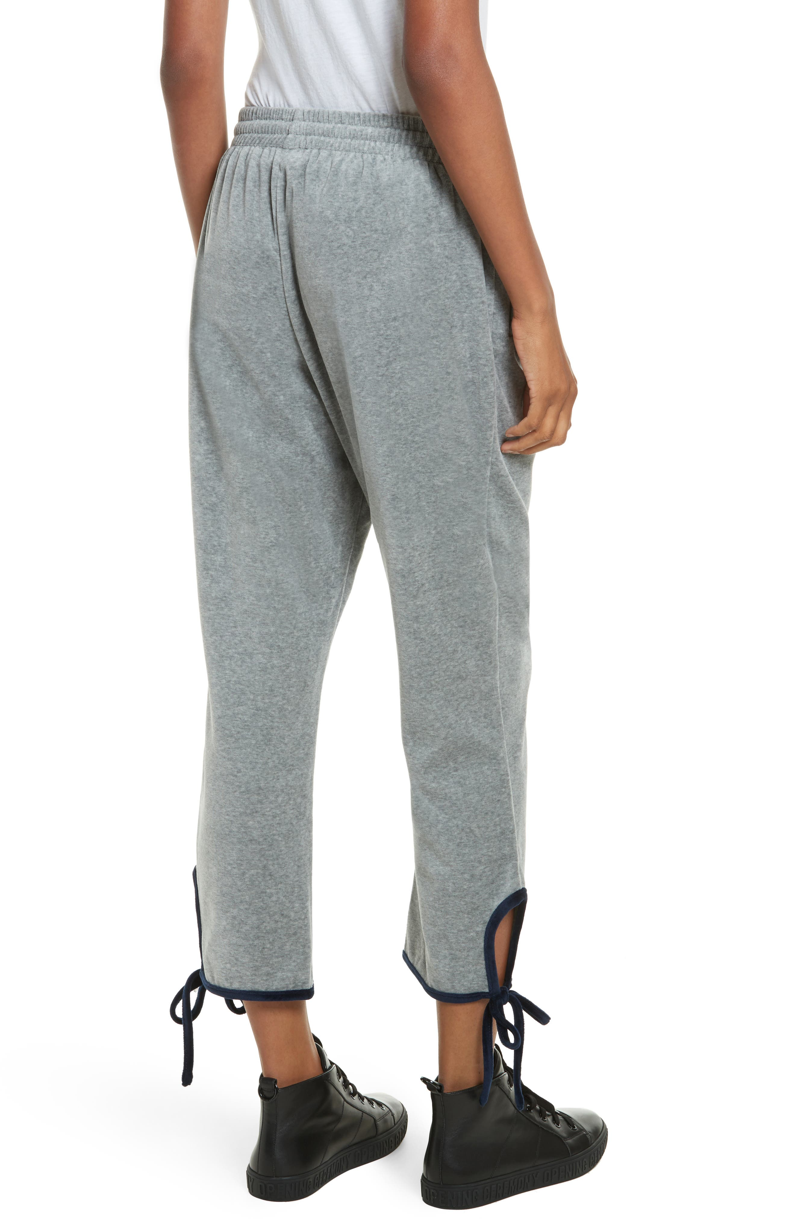 Alternate Image 3  - Opening Ceremony Velour Tie Track Pants