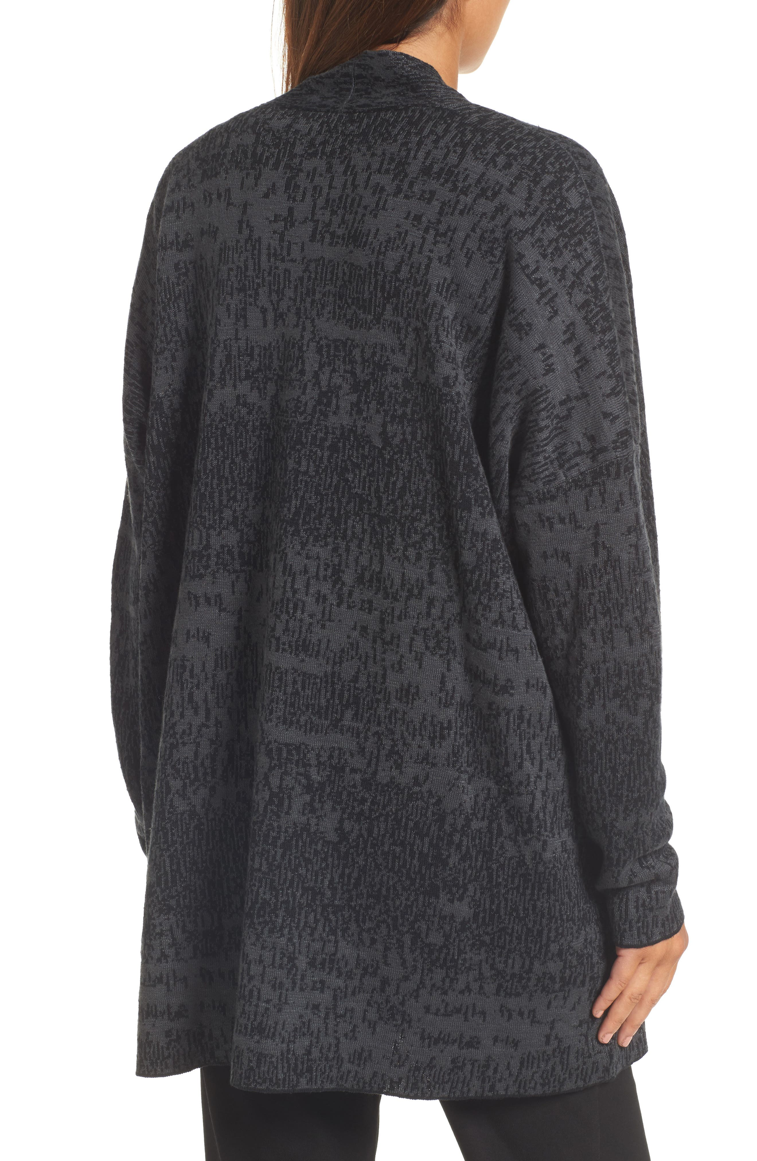 Alternate Image 2  - Eileen Fisher Organic Linen & Cotton Cardigan