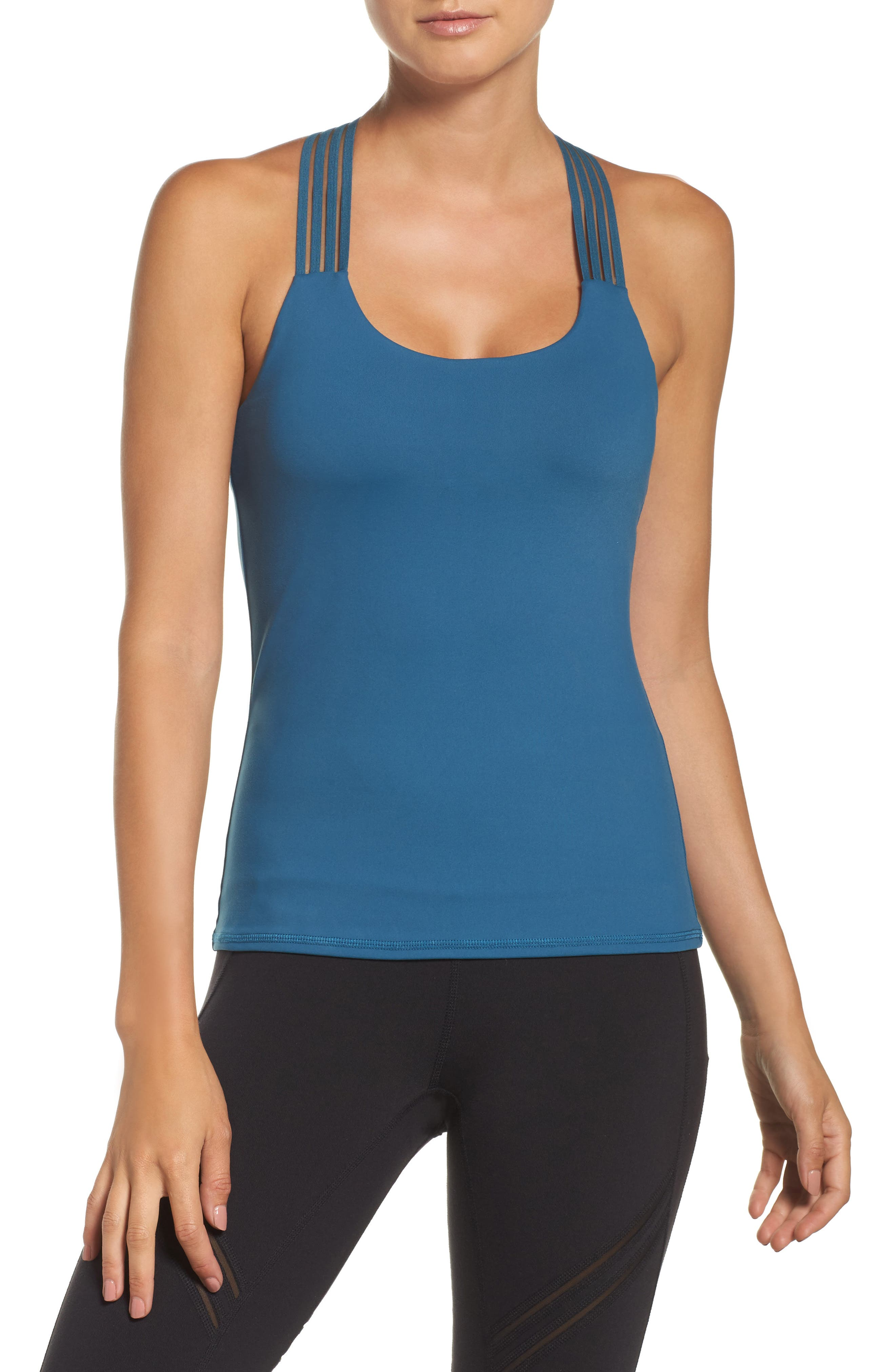 Escape Bra Tank,                         Main,                         color, Legion Blue