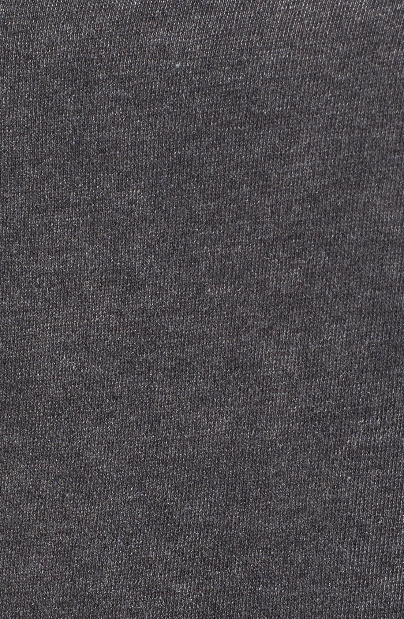 Alternate Image 5  - Love, Fire Ruffle Cold Shoulder Sweatshirt