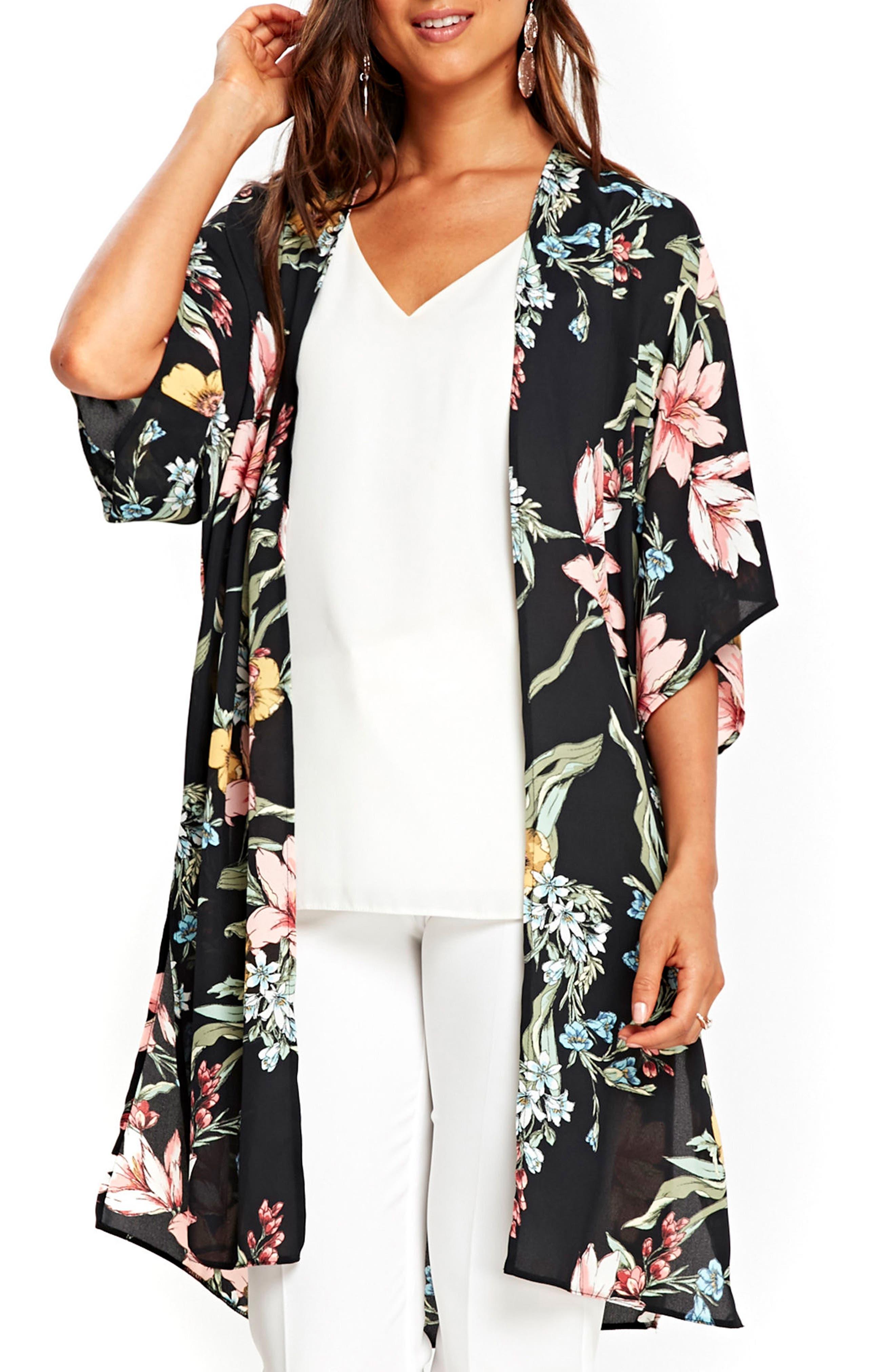 Wallis July Lily Kimono Jacket