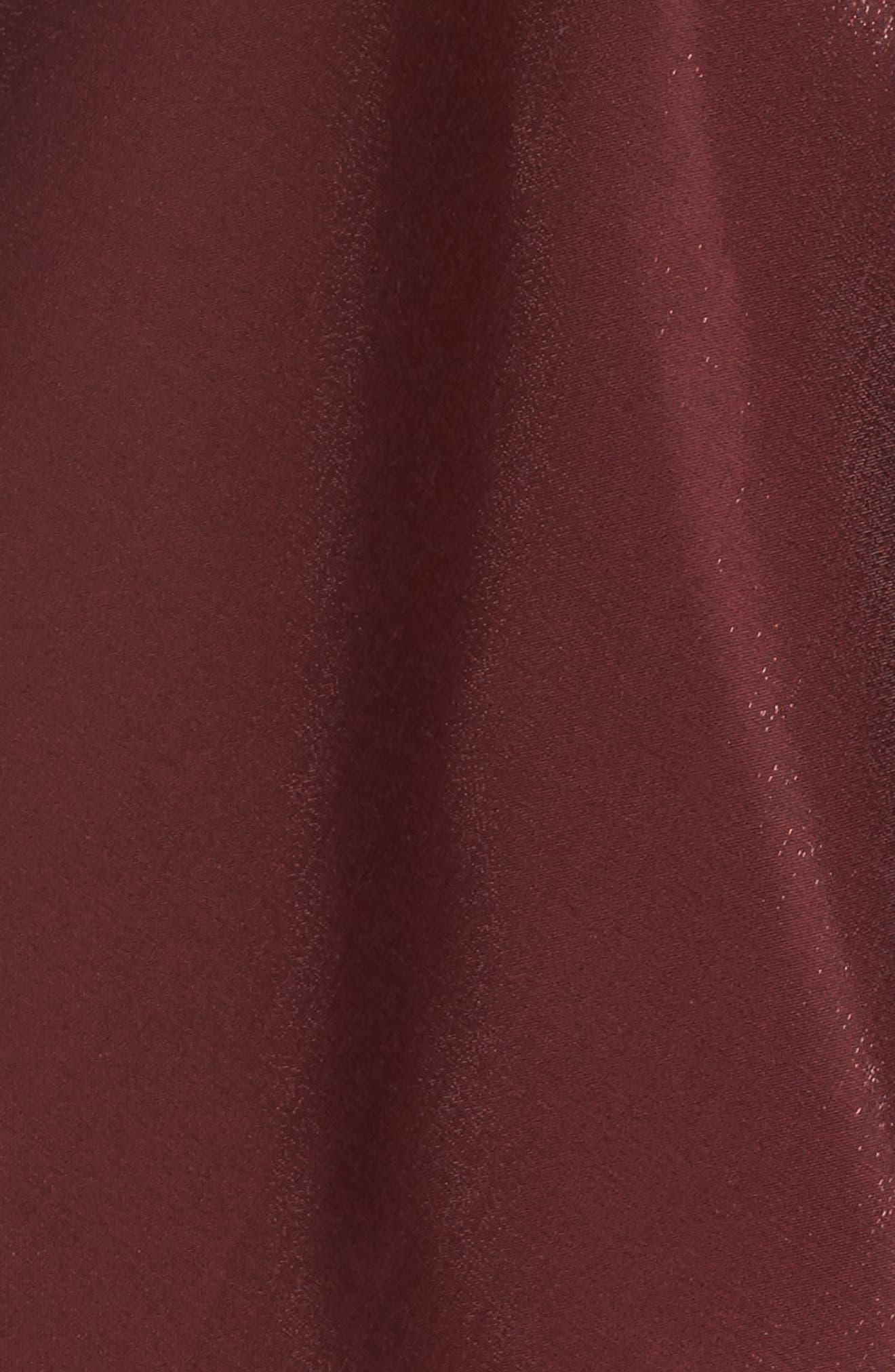 Alternate Image 5  - Xscape Shimmer Fit & Flare Dress