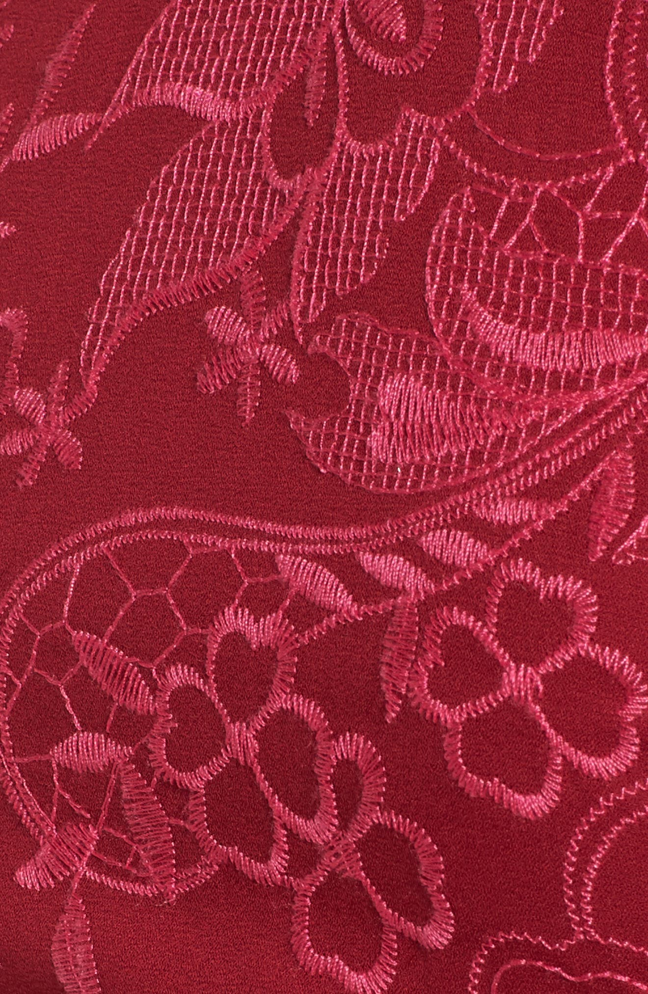Alternate Image 5  - devlin Serafina Bell Sleeve Dress