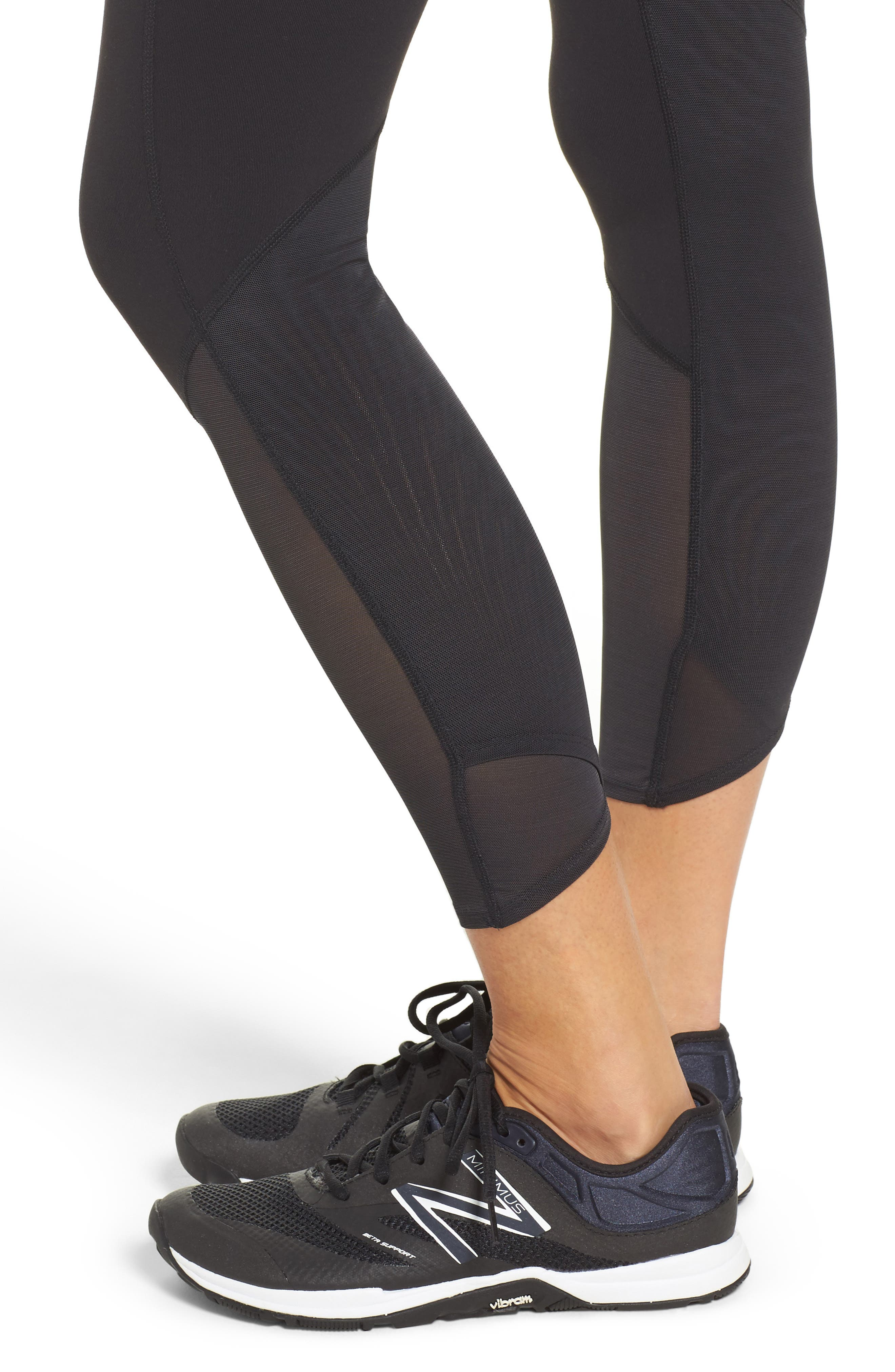 Alternate Image 4  - New Balance Elixir High Waist Ankle Leggings