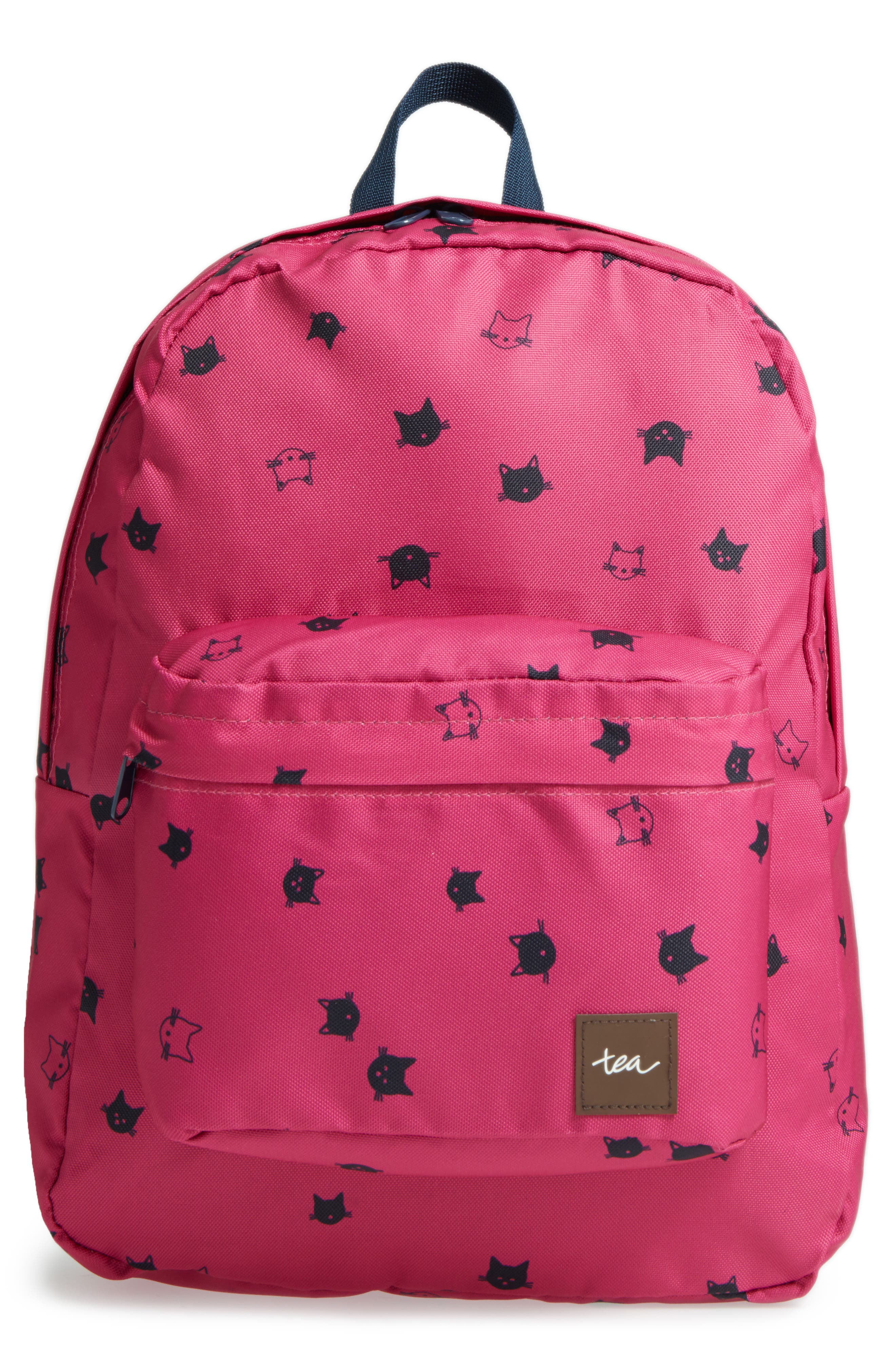 Alternate Image 1 Selected - Tea Collection Moggy Cat Backpack (Kids)