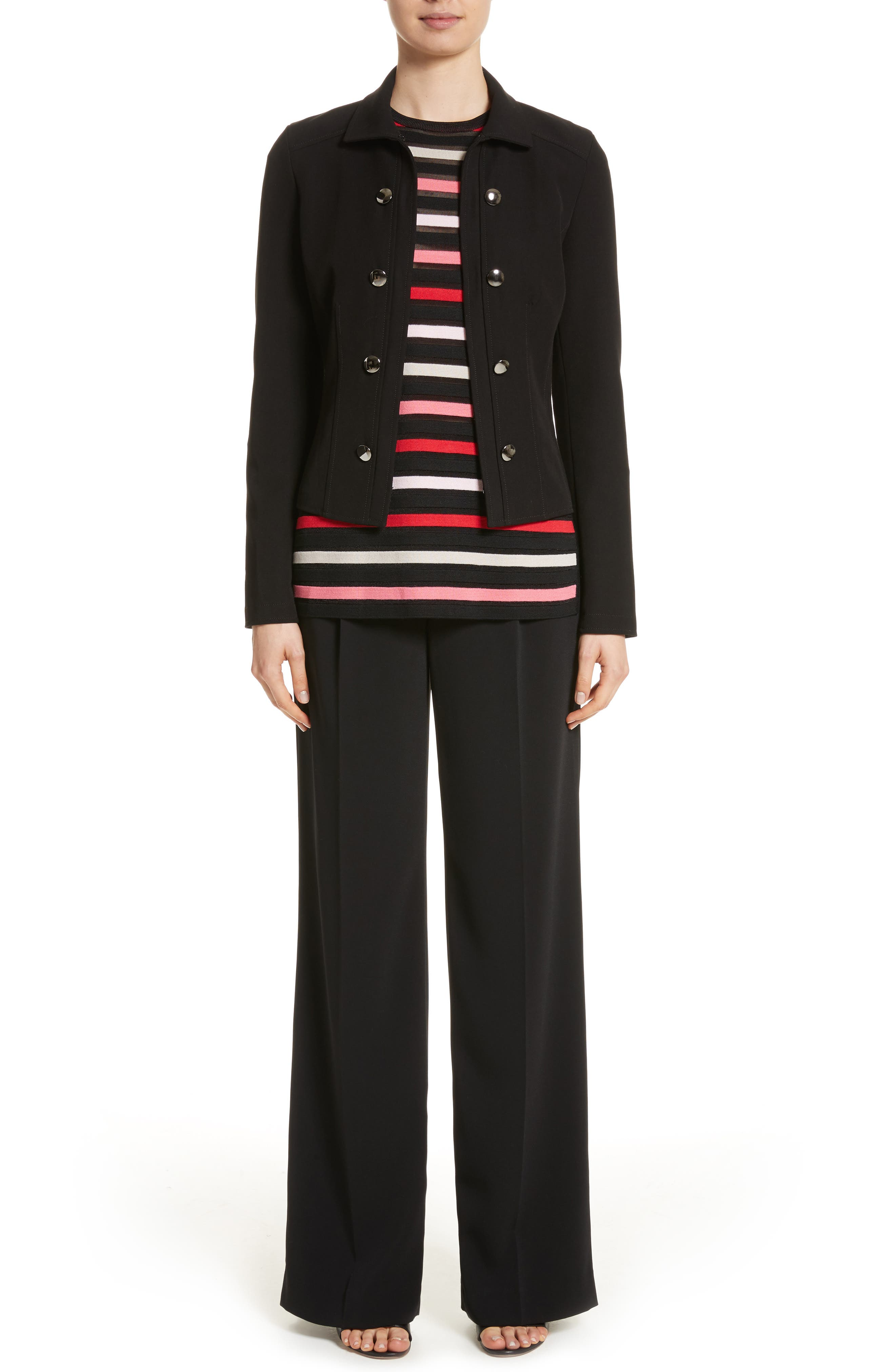 Alternate Image 8  - St. John Collection Classic Stretch Cady Pants