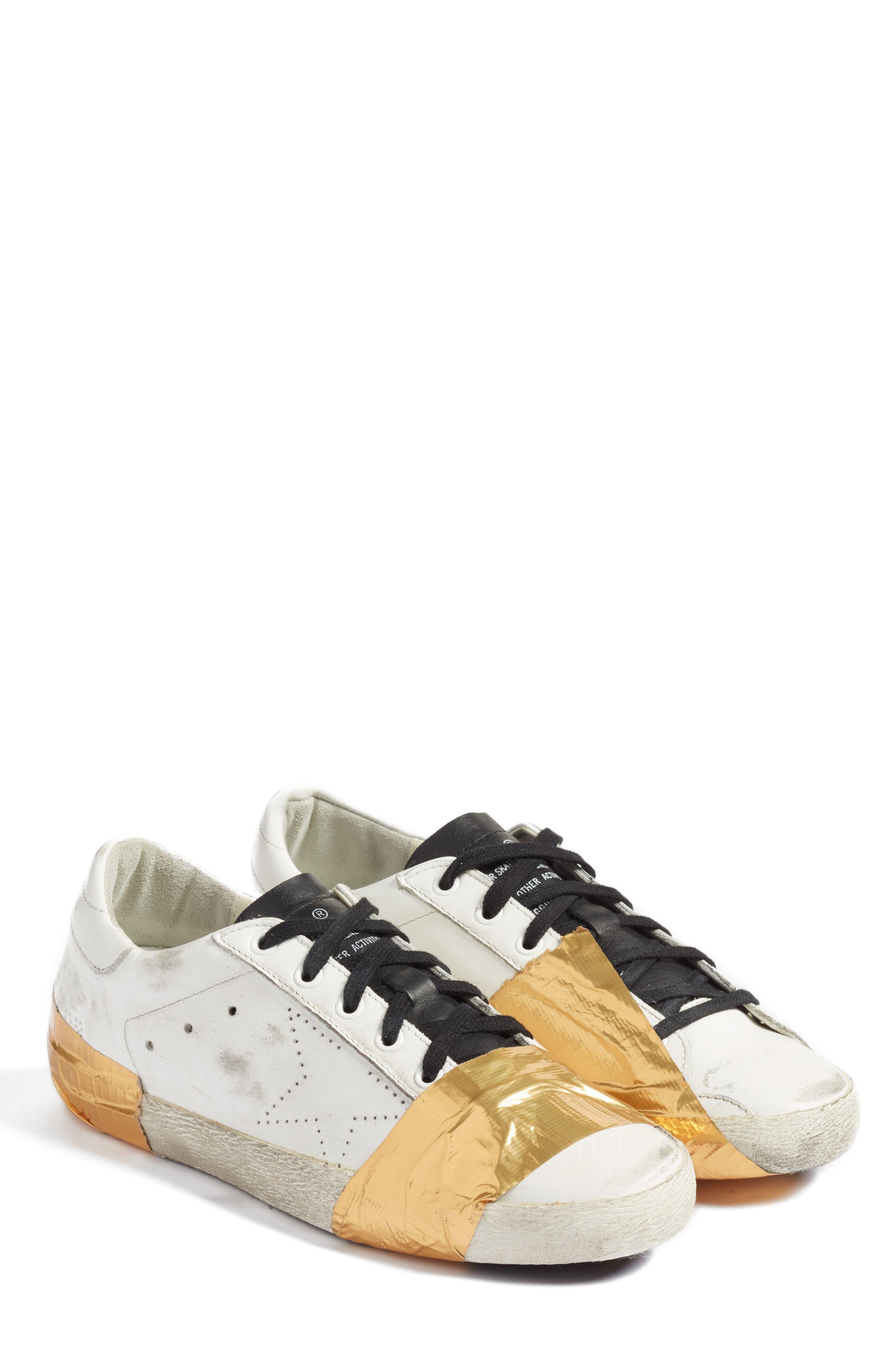 Golden Goose Slide Distressed Taped Sneaker (Men)