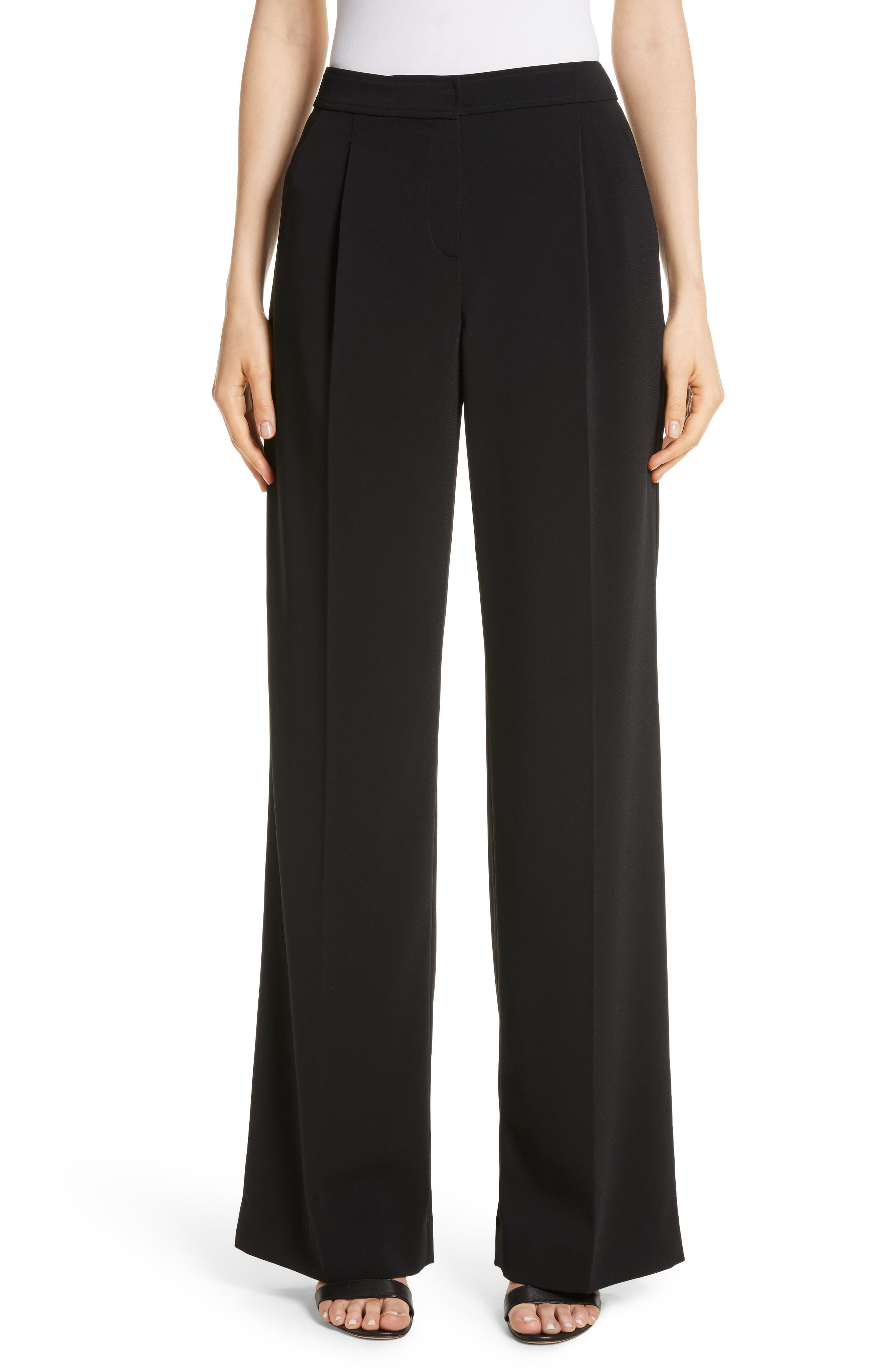 Alternate Image 1 Selected - St. John Collection Classic Stretch Cady Pants