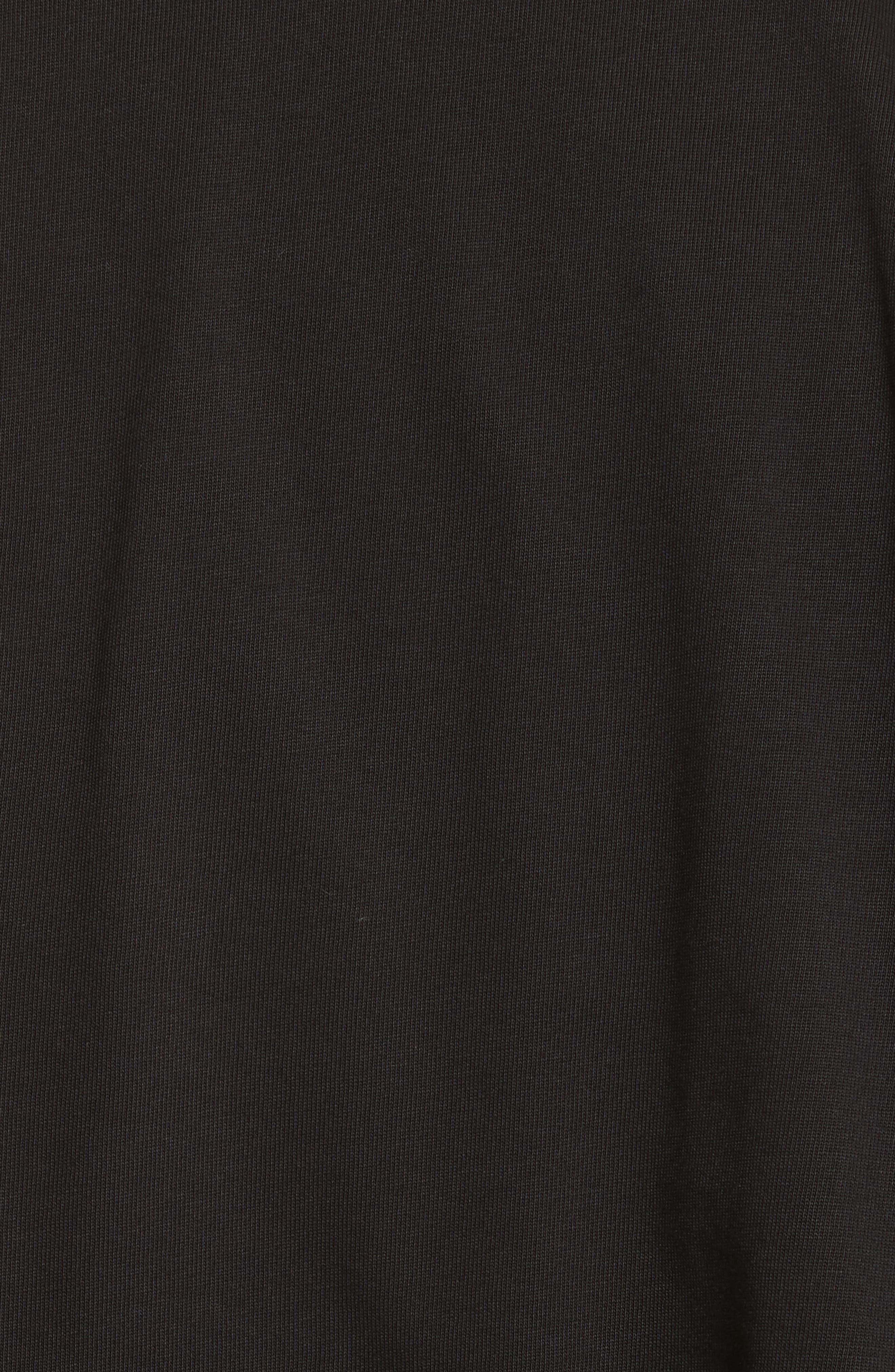 Alternate Image 5  - Helmut Lang Drape Military Jersey T-Shirt