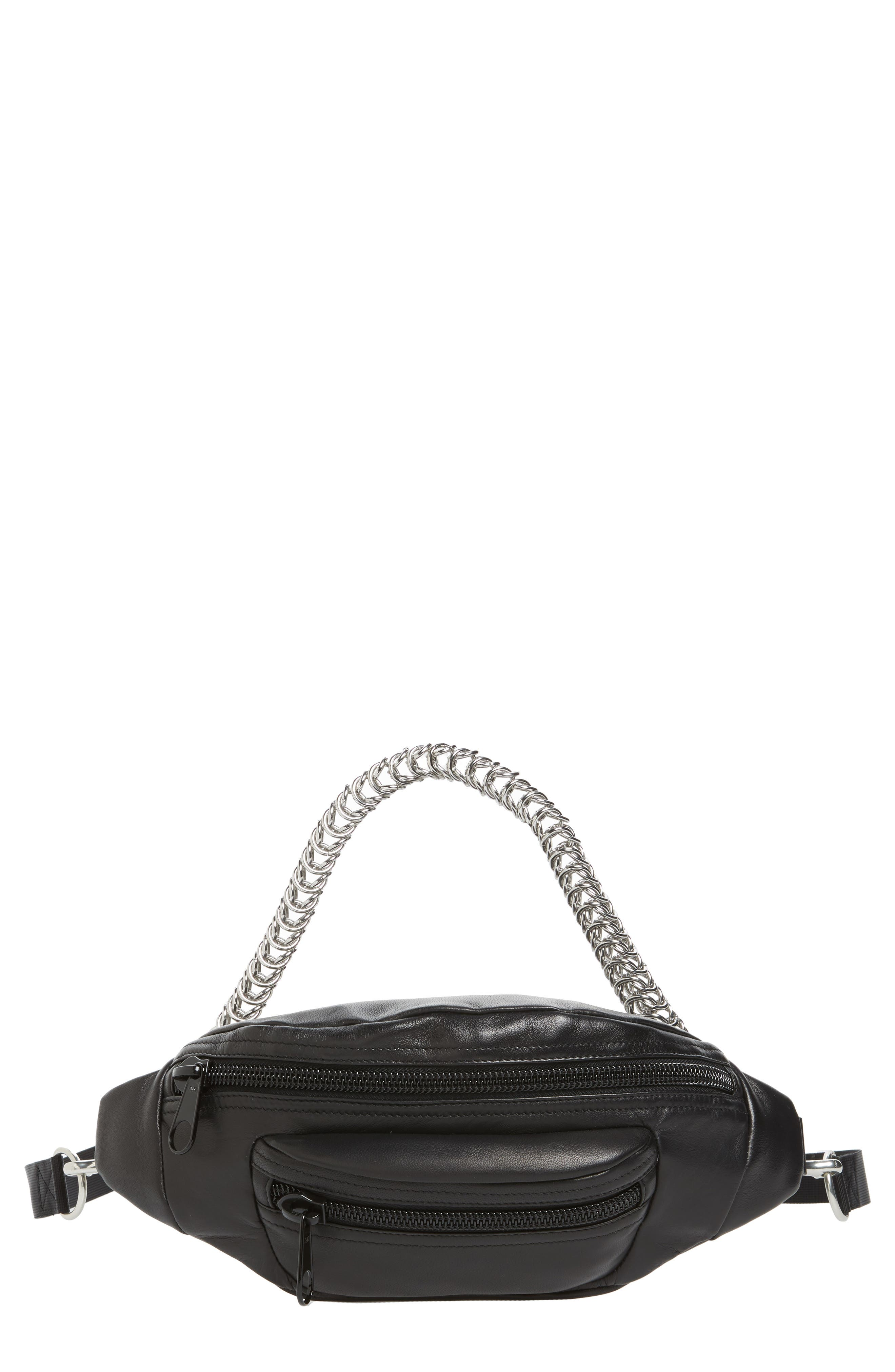 Alexander Wang Primary Box Chain Leather Fanny Pack