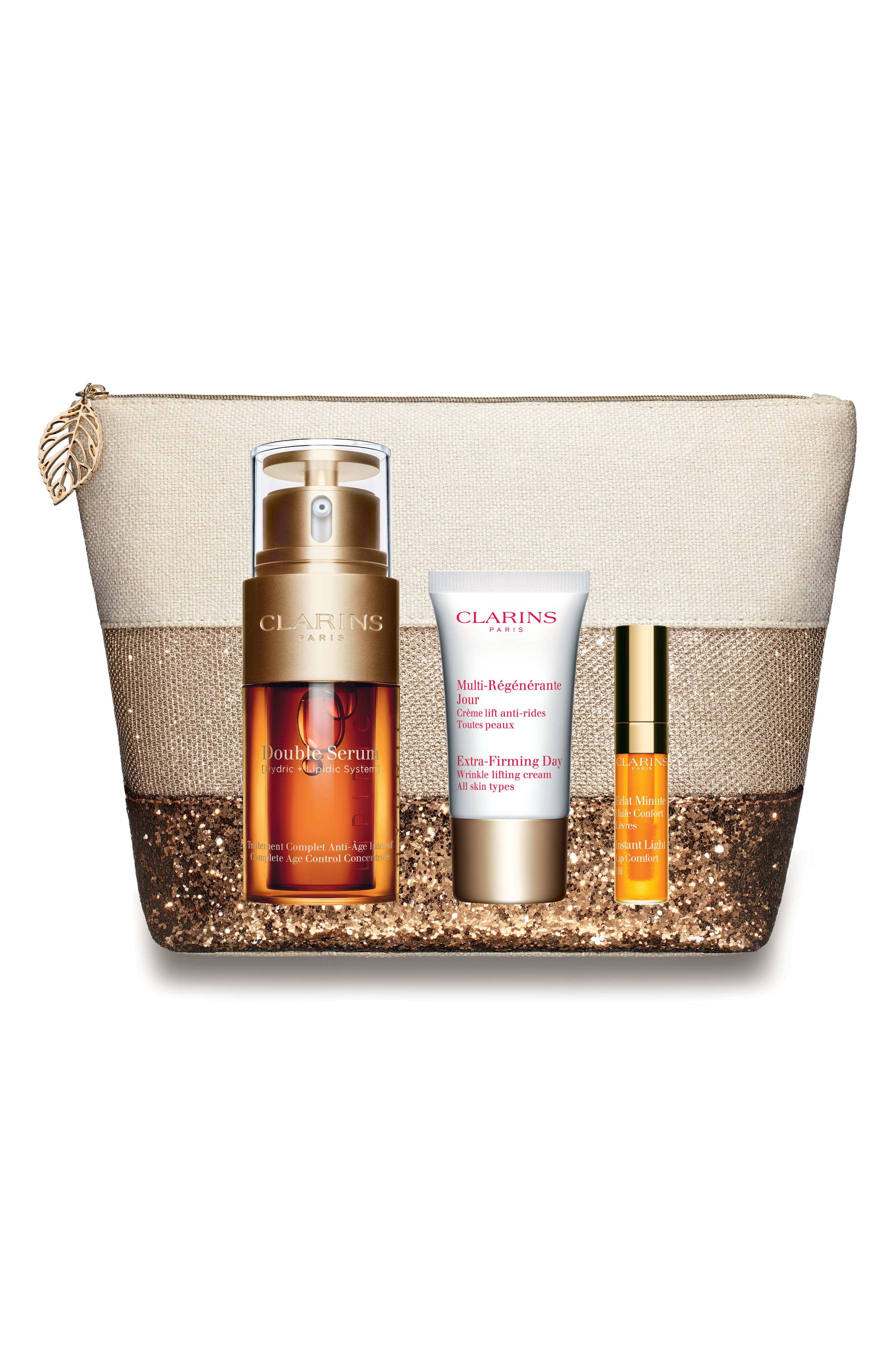 Clarins Extra Firming Double Serum Set (Over $125 Value)