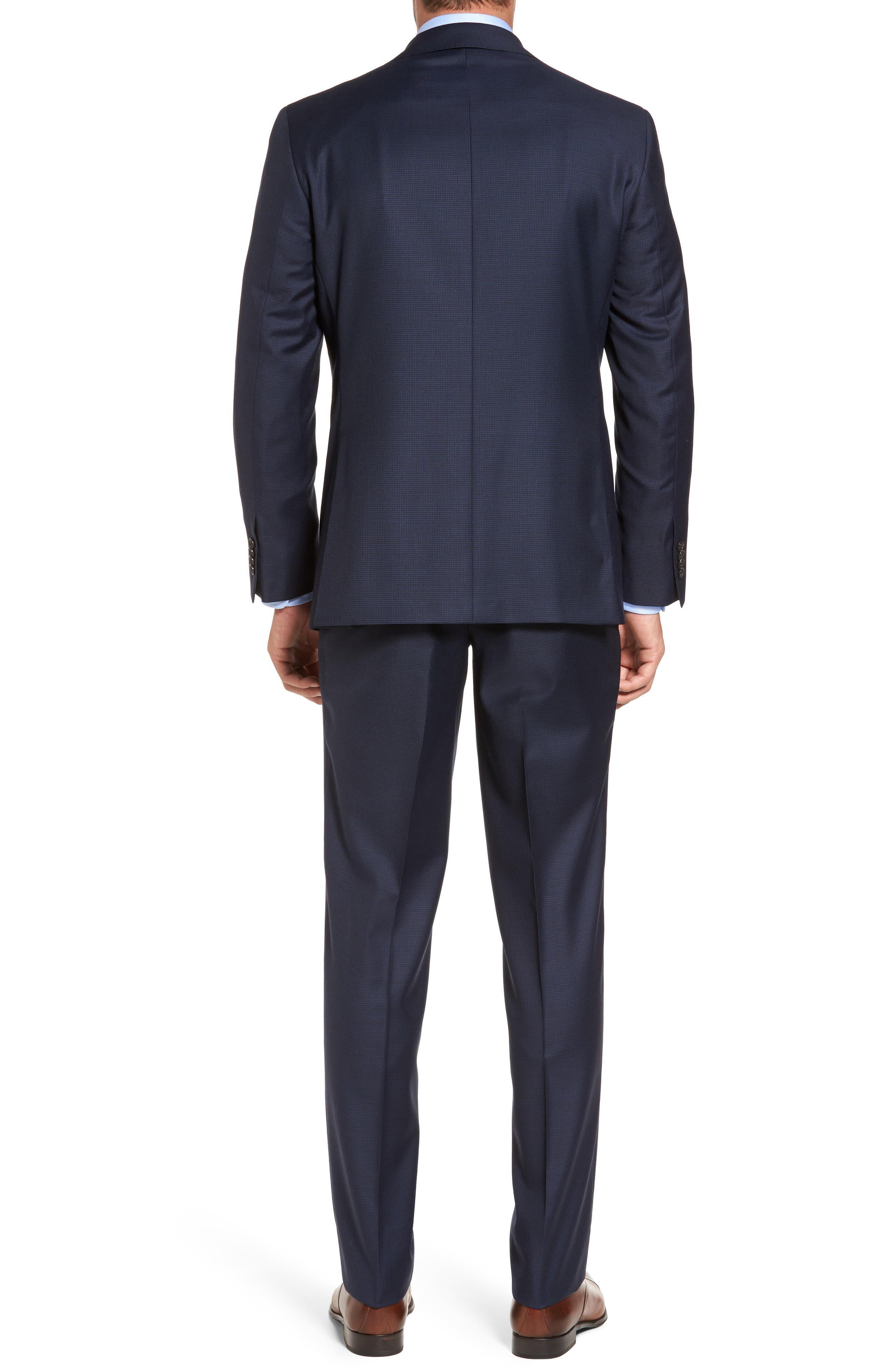 Ryan Classic Fit Wool Suit,                             Alternate thumbnail 2, color,                             Navy