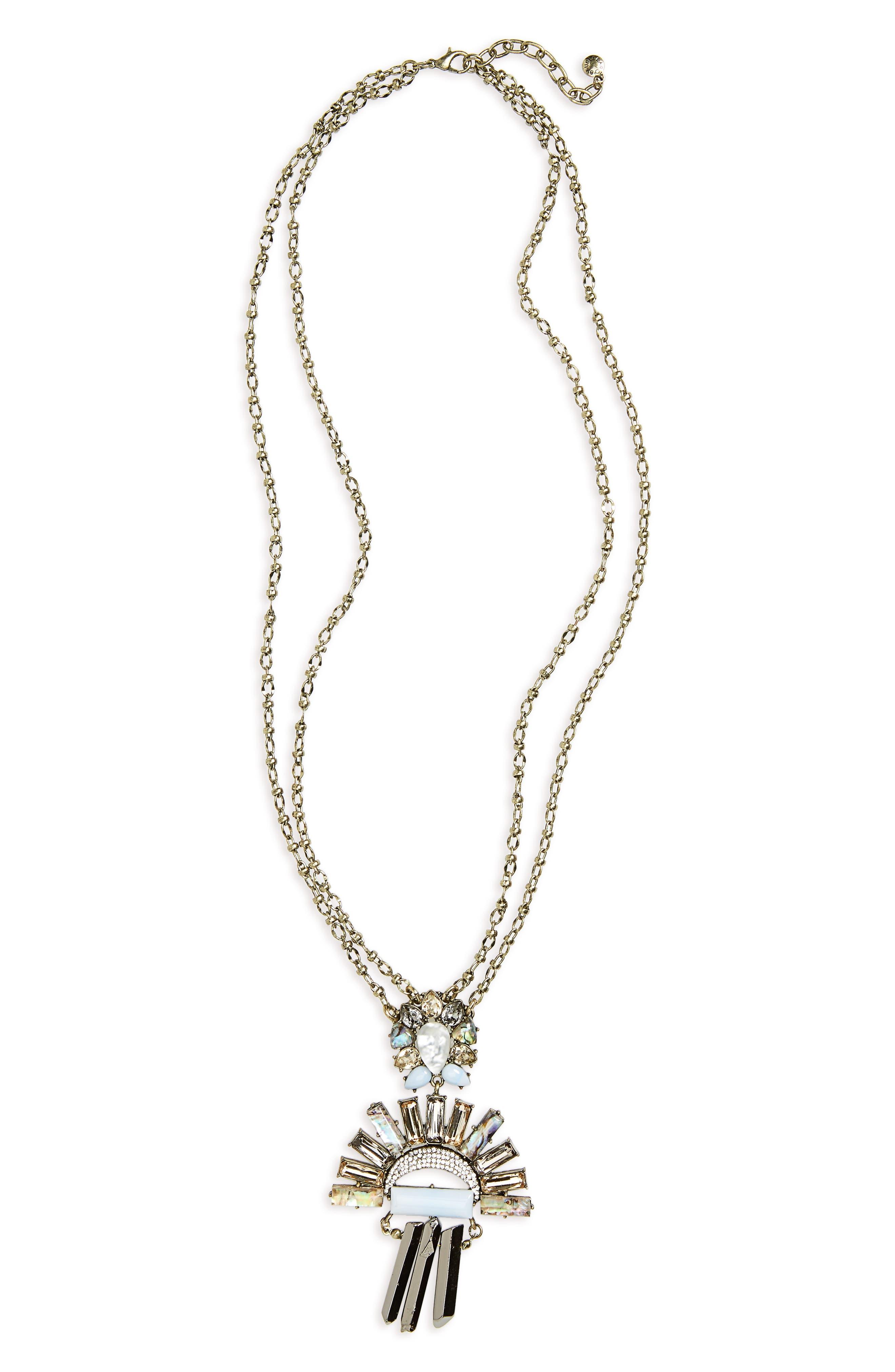 BAUBLEBAR Torrence Crystal Necklace