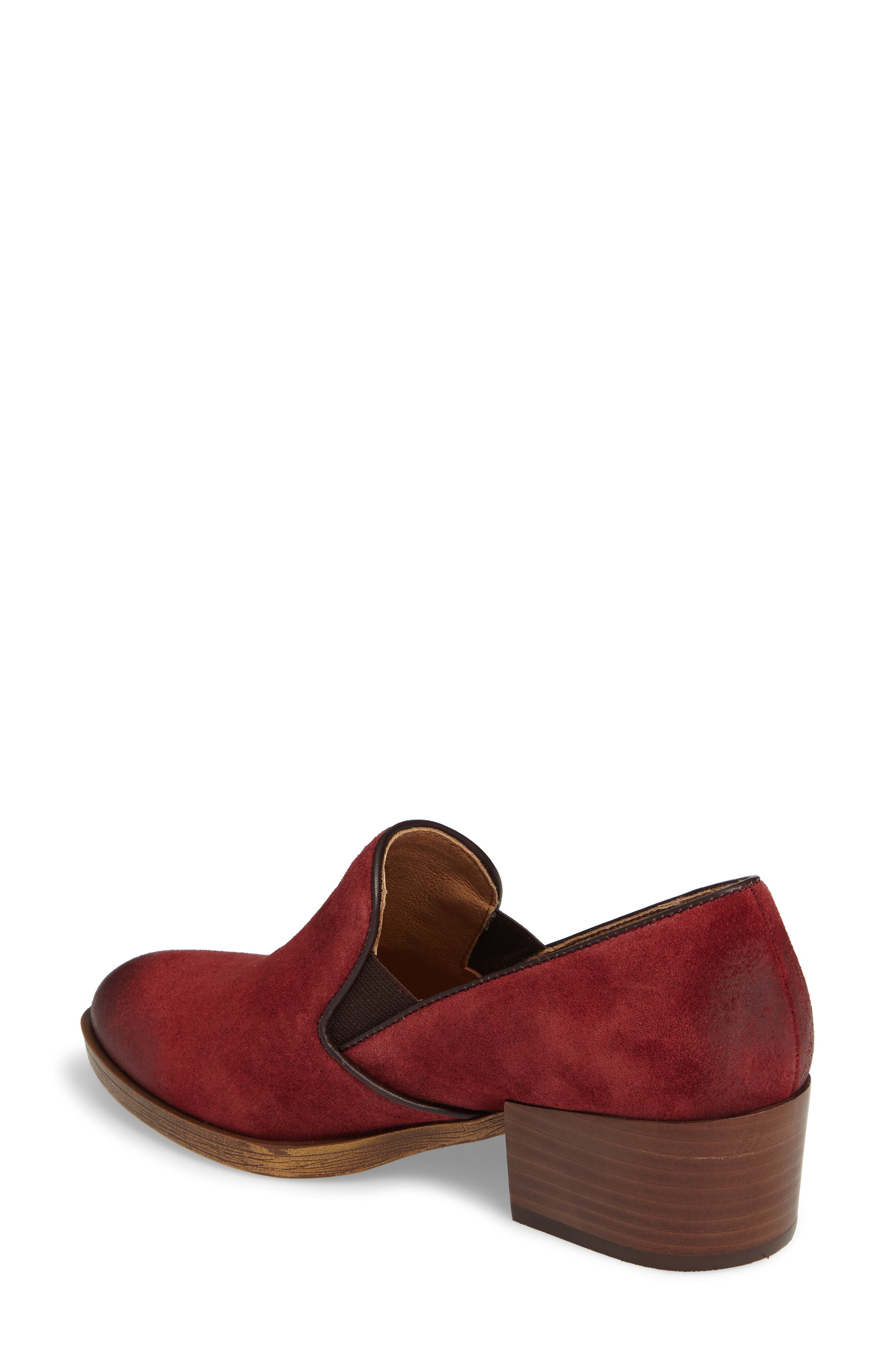 Velina Pump,                             Alternate thumbnail 2, color,                             Bordo Suede