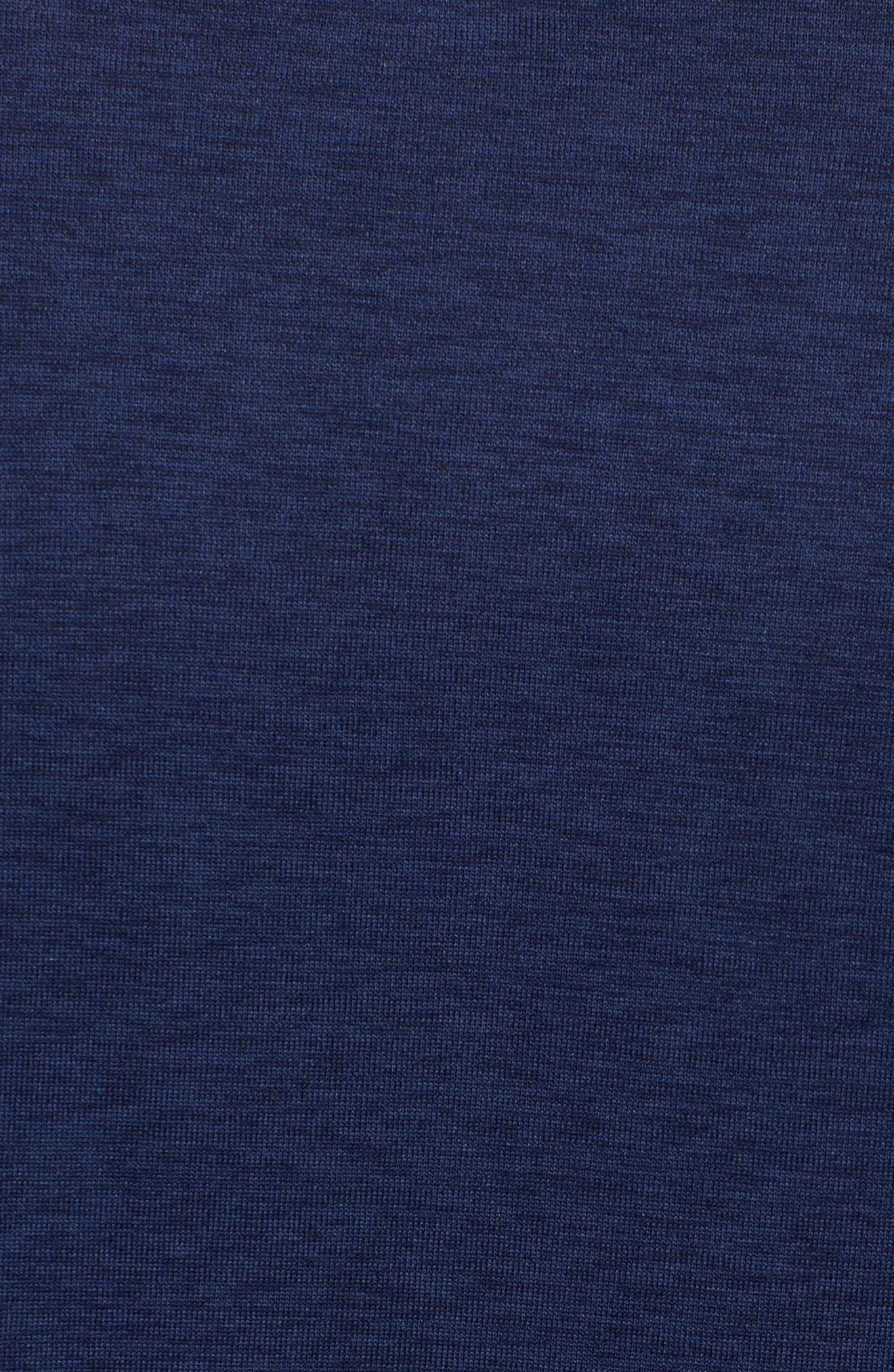 Hyper Dry Training Tee,                             Alternate thumbnail 5, color,                             Binary Blue/ Black/ Black