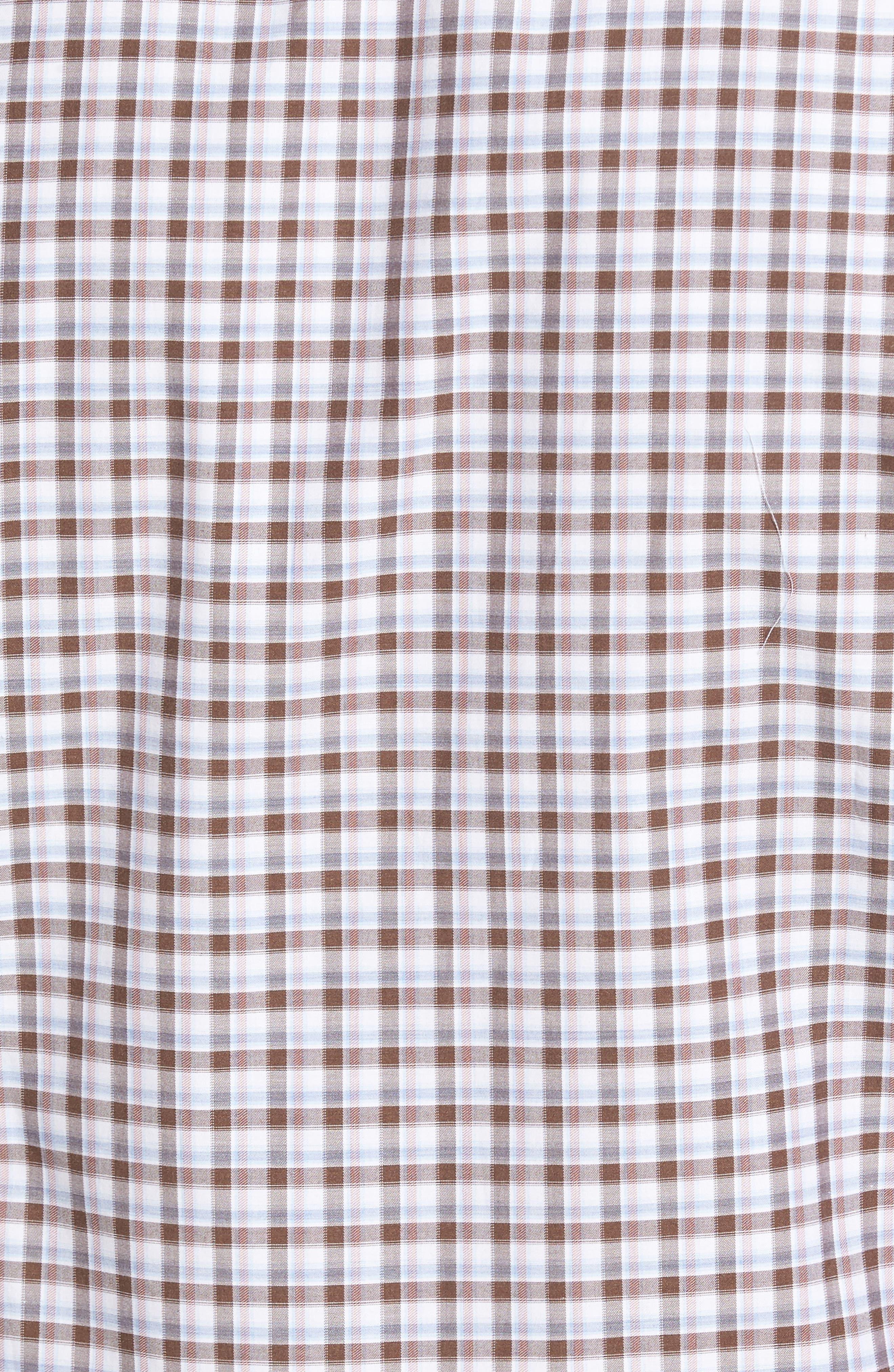 Alternate Image 5  - Peter Millar Northern Lights Regular Fit Check Sport Shirt