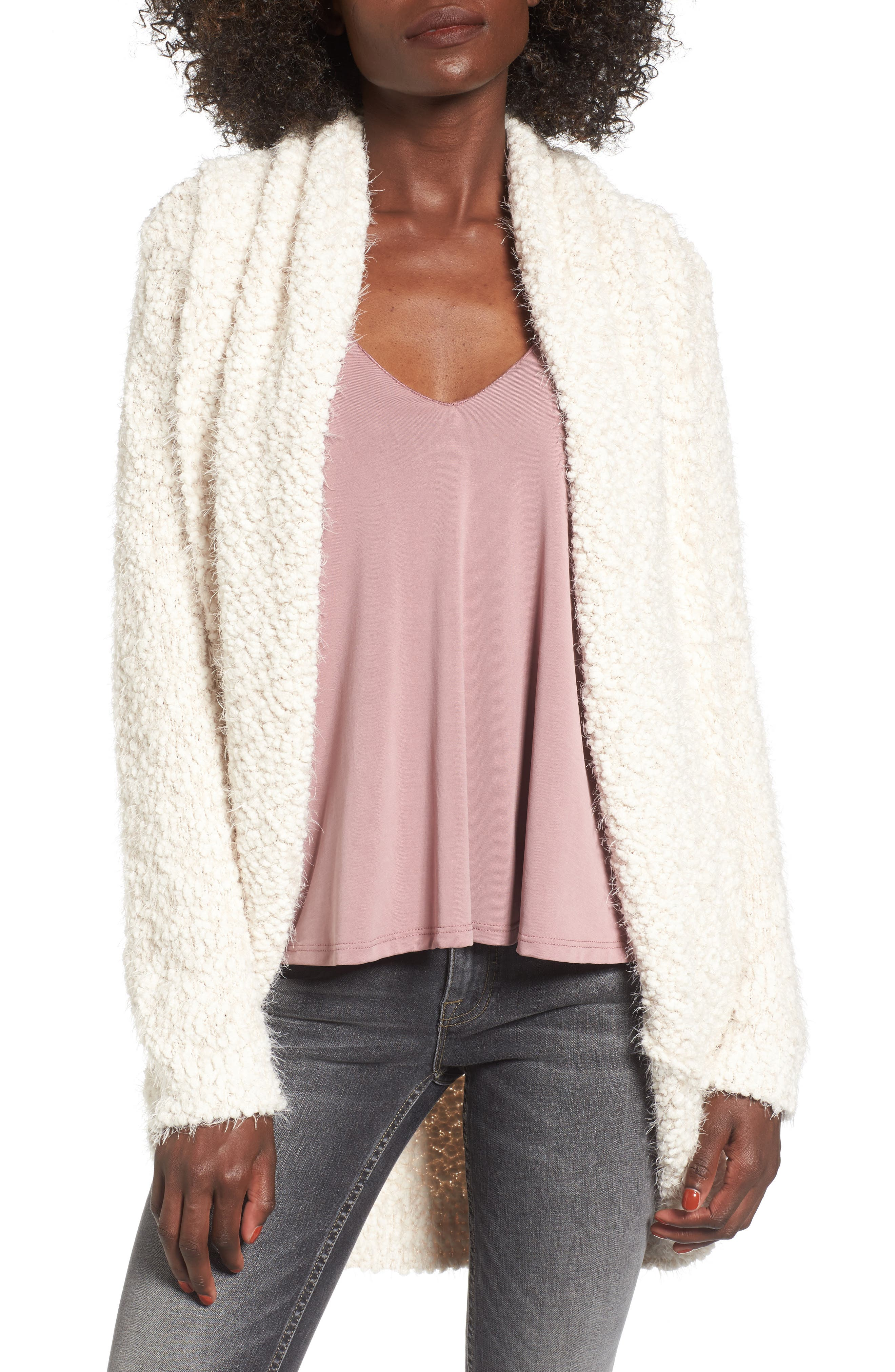 Alternate Image 1 Selected - BP. Fluffy Cocoon Cardigan