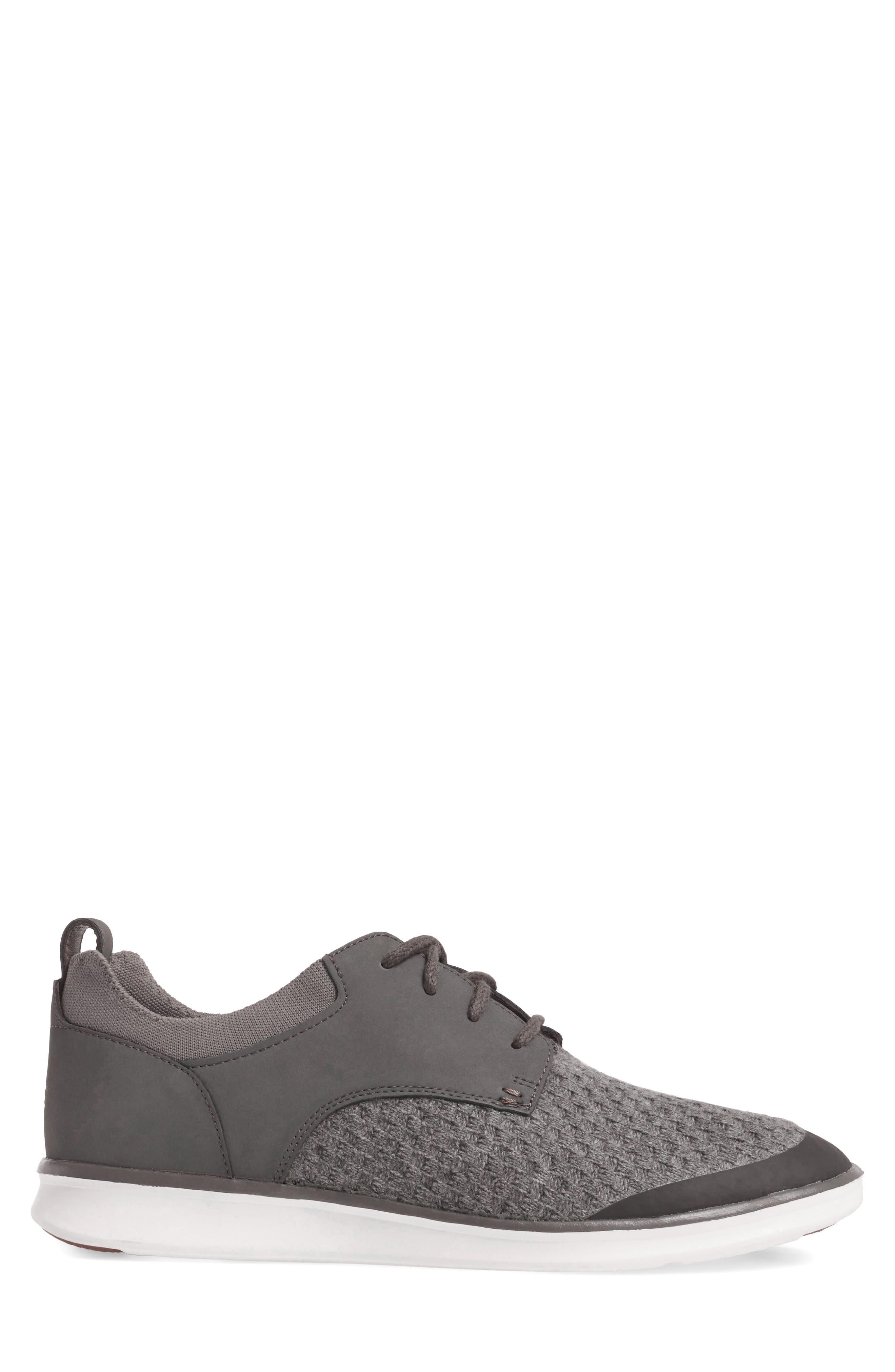 Hepner HyperWeave Sneaker,                             Alternate thumbnail 3, color,                             Dark Charcoal
