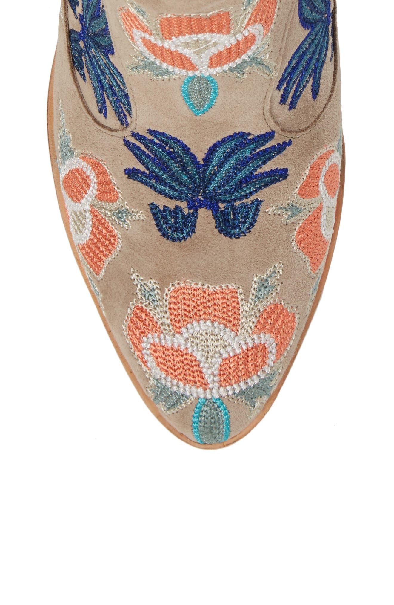 Alternate Image 5  - Rebecca Minkoff Lulu Too Flower Embroidered Bootie (Women)
