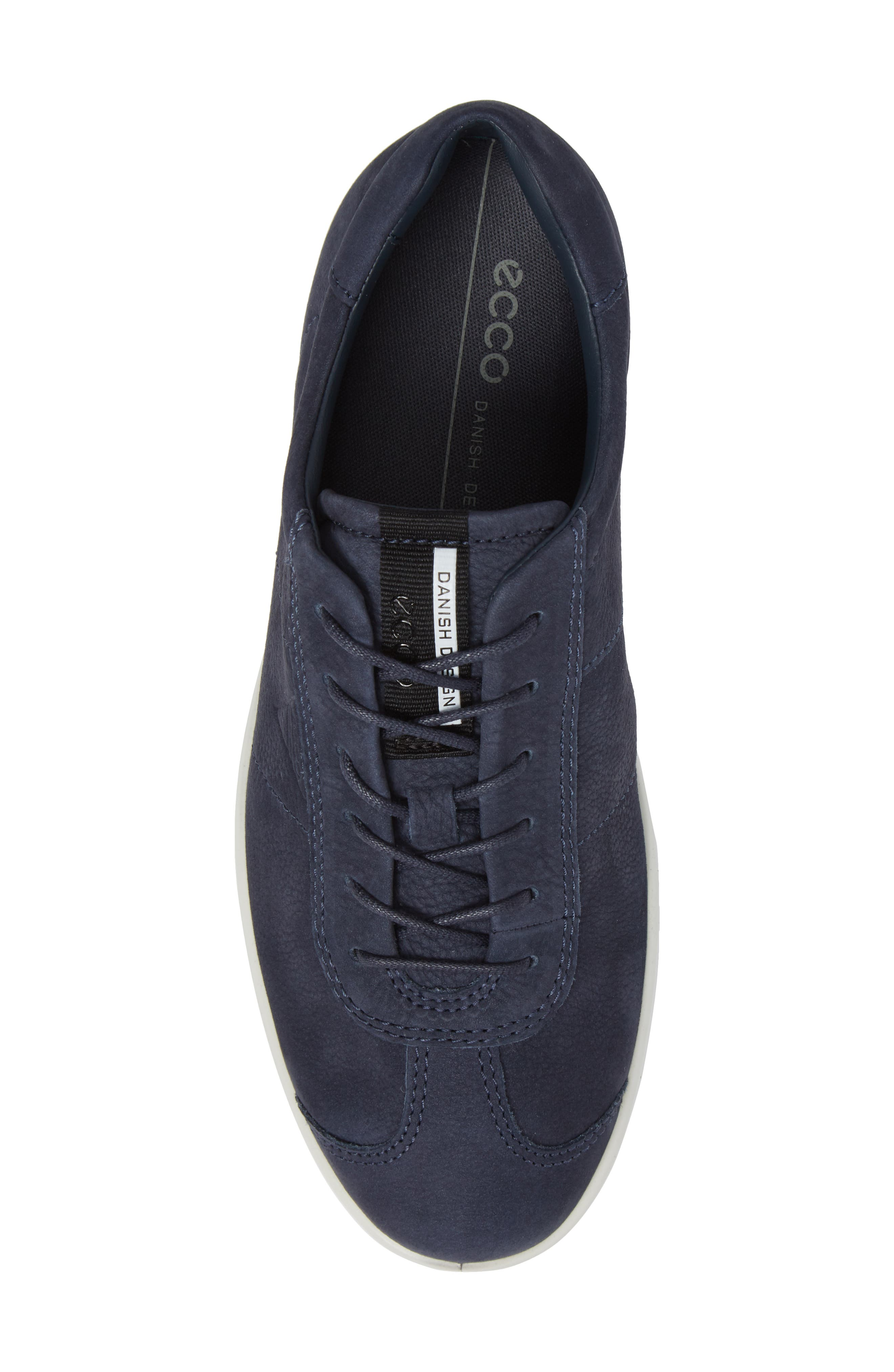 Soft 1 Sneaker,                             Alternate thumbnail 5, color,                             Marine Nubuck