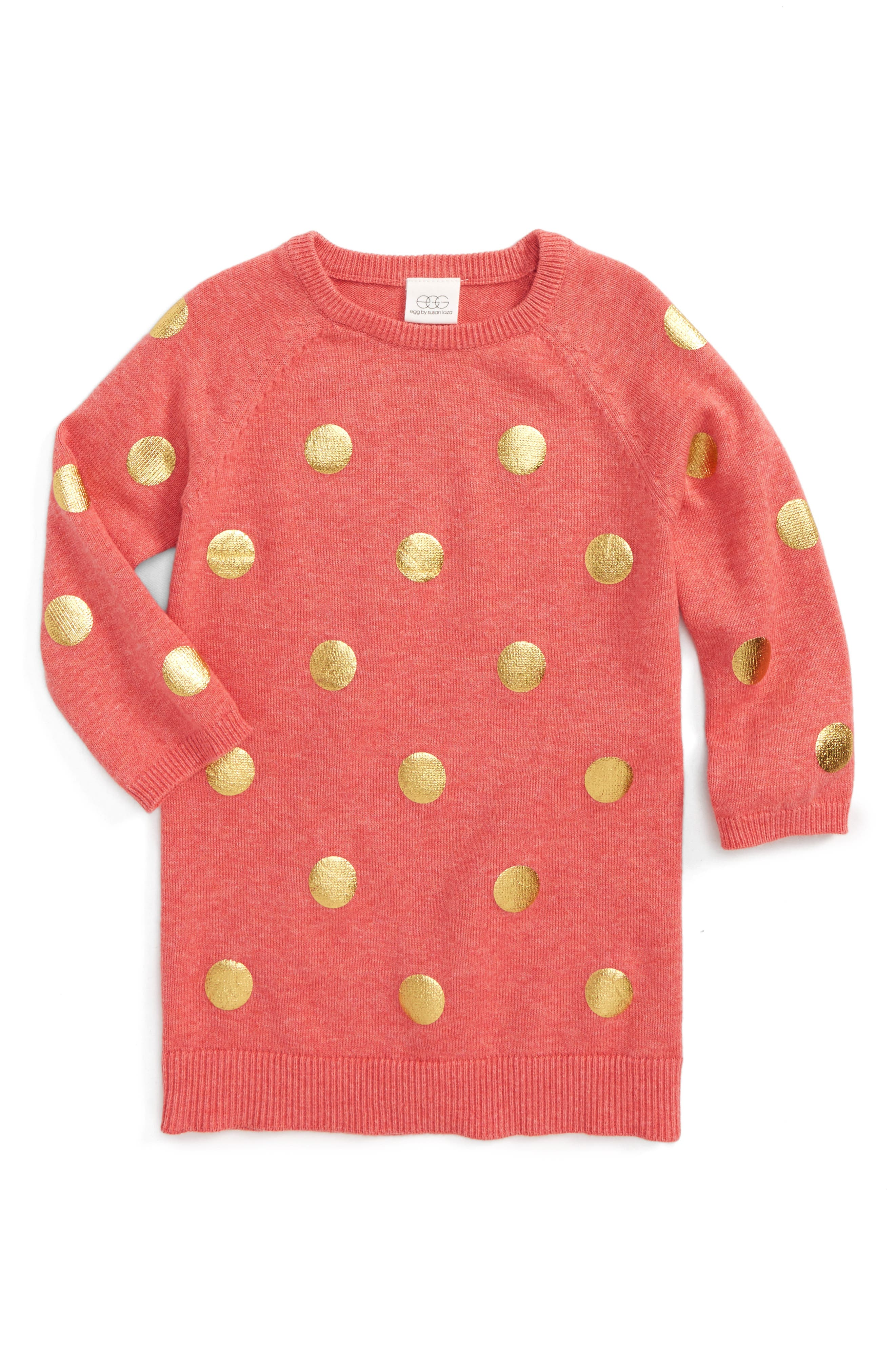 egg by susan lazar Emily Sweater Dress (Baby Girls)