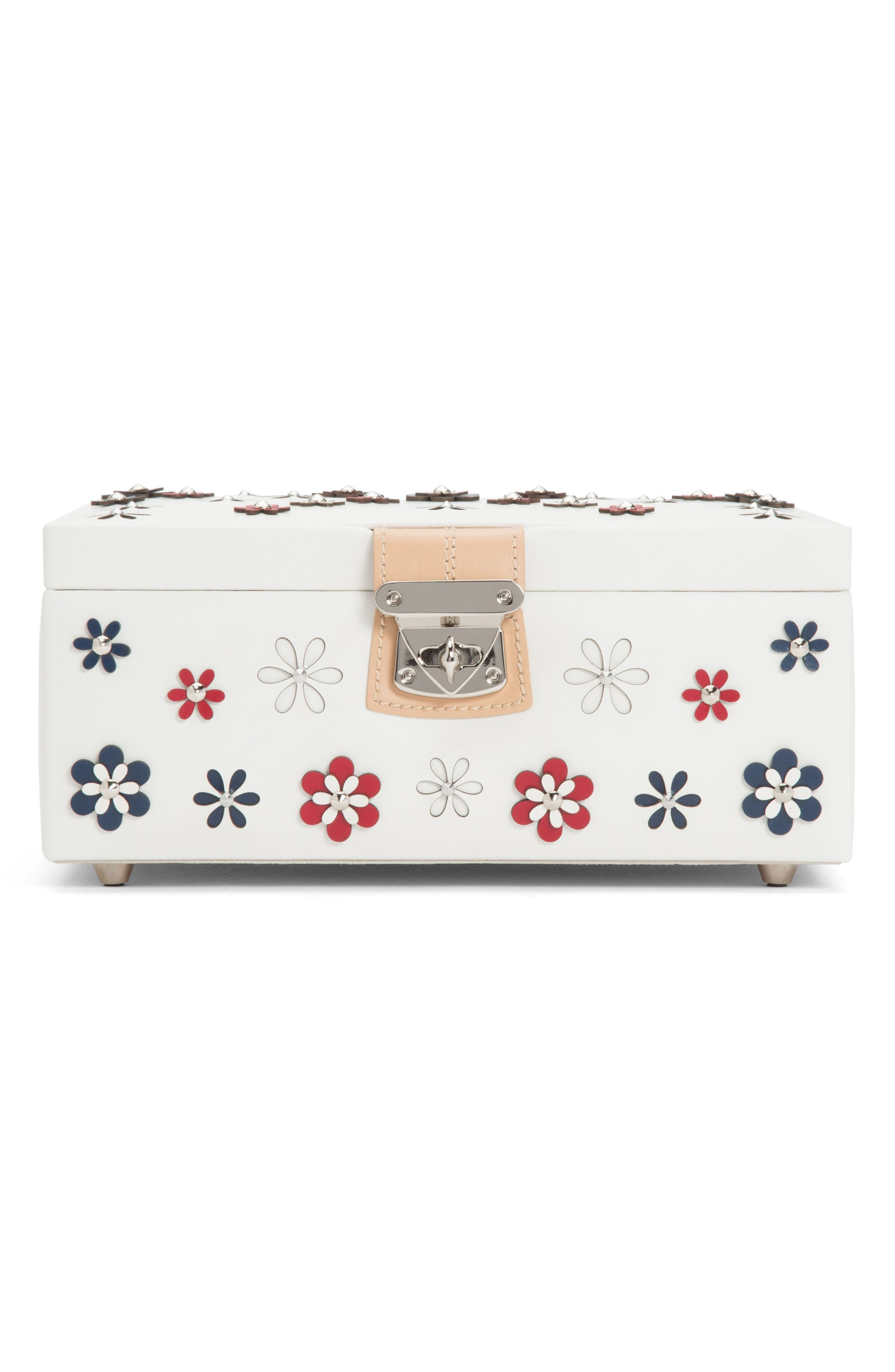 MEDIUM BLOSSOM JEWELRY BOX - IVORY