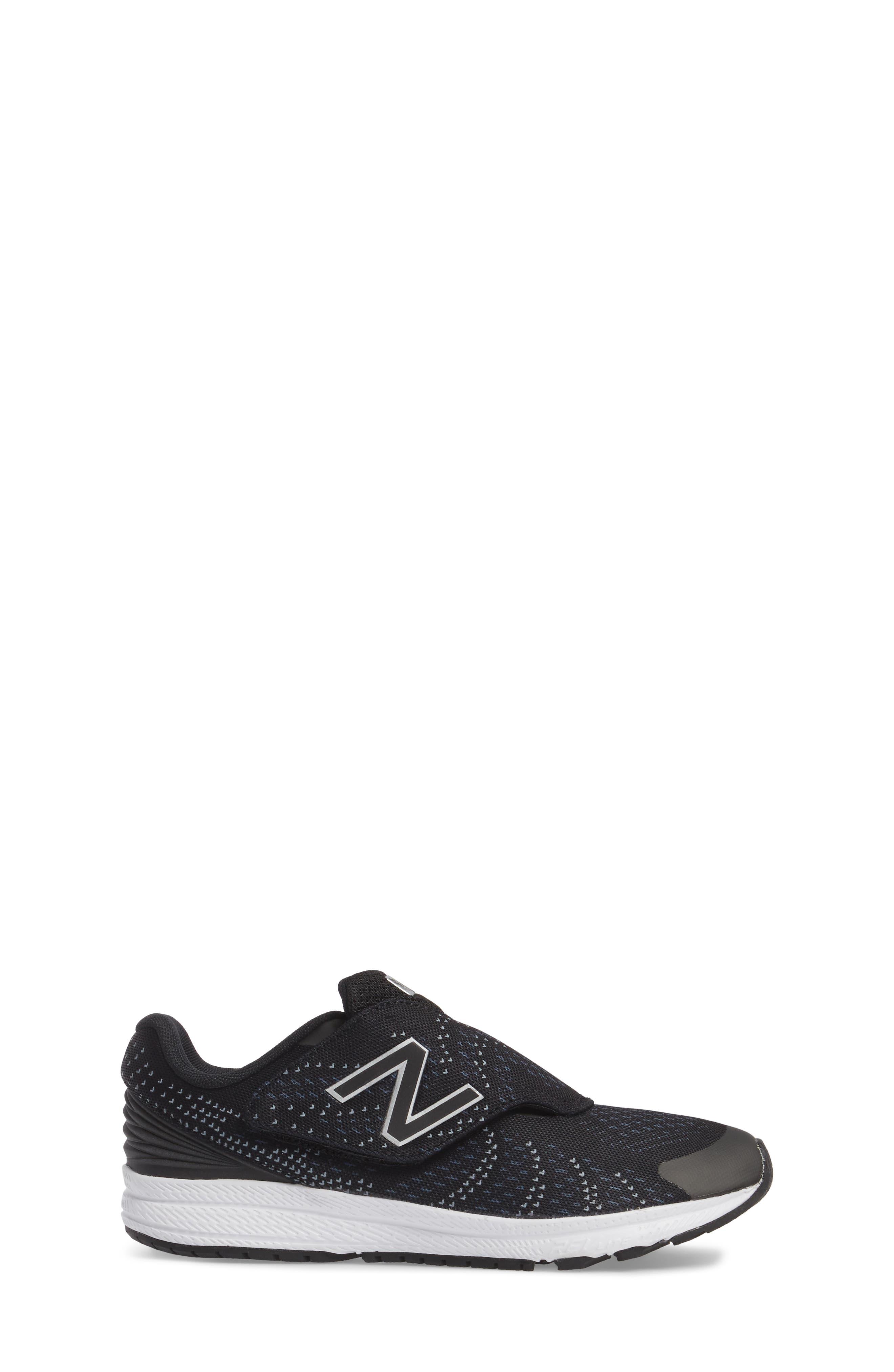 FuelCore Rush v3 Sneaker,                             Alternate thumbnail 3, color,                             Black