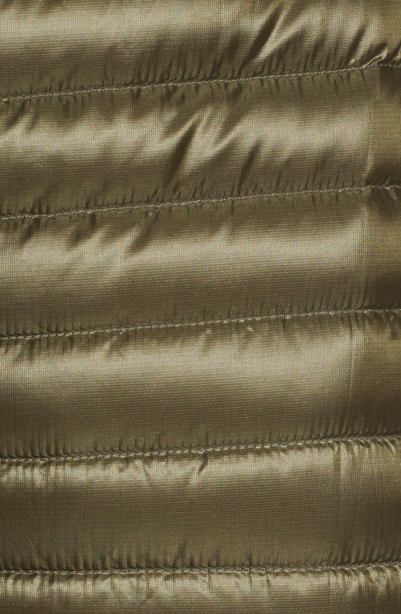 'Nuri' Hooded Water Resistant Down Coat,                             Alternate thumbnail 6, color,                             Banyen