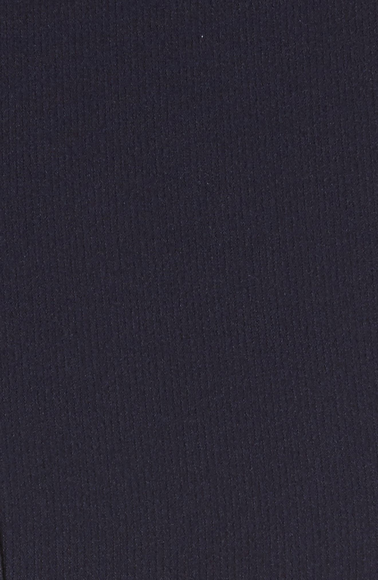 Alternate Image 5  - Rachel Gilbert Embellished Frill Front Crepe Gown