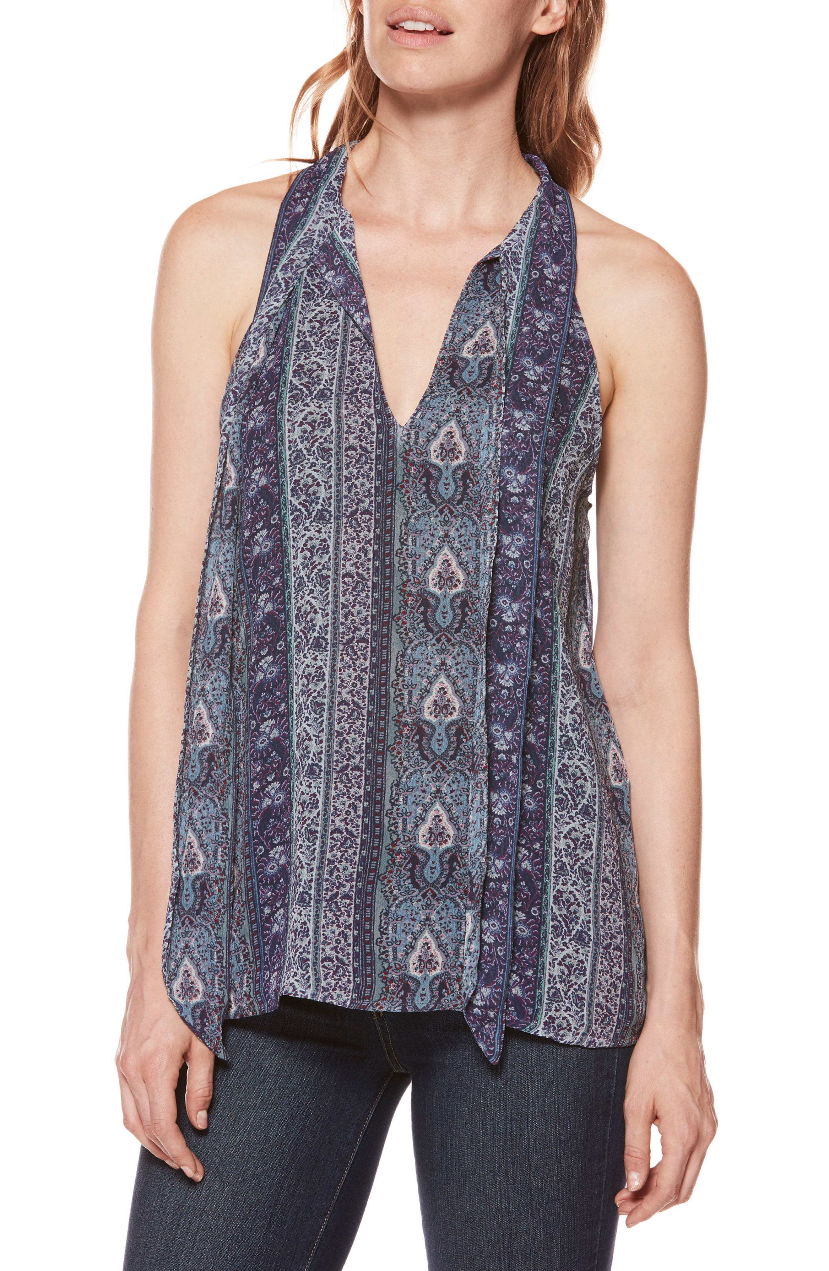 Alternate Image 1 Selected - PAIGE Candella Silk Georgette Tank