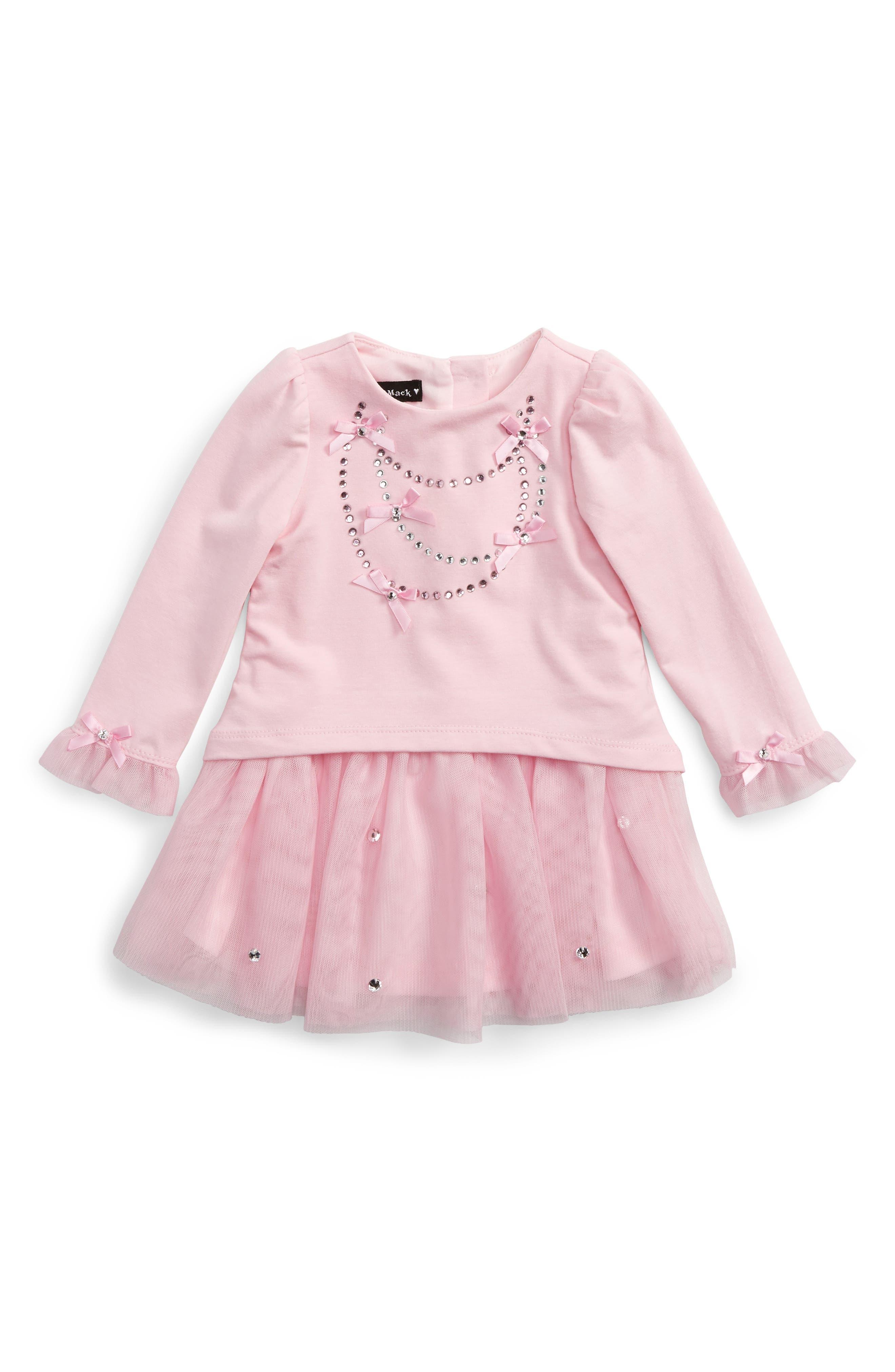 Tutu Dress,                         Main,                         color, Pink