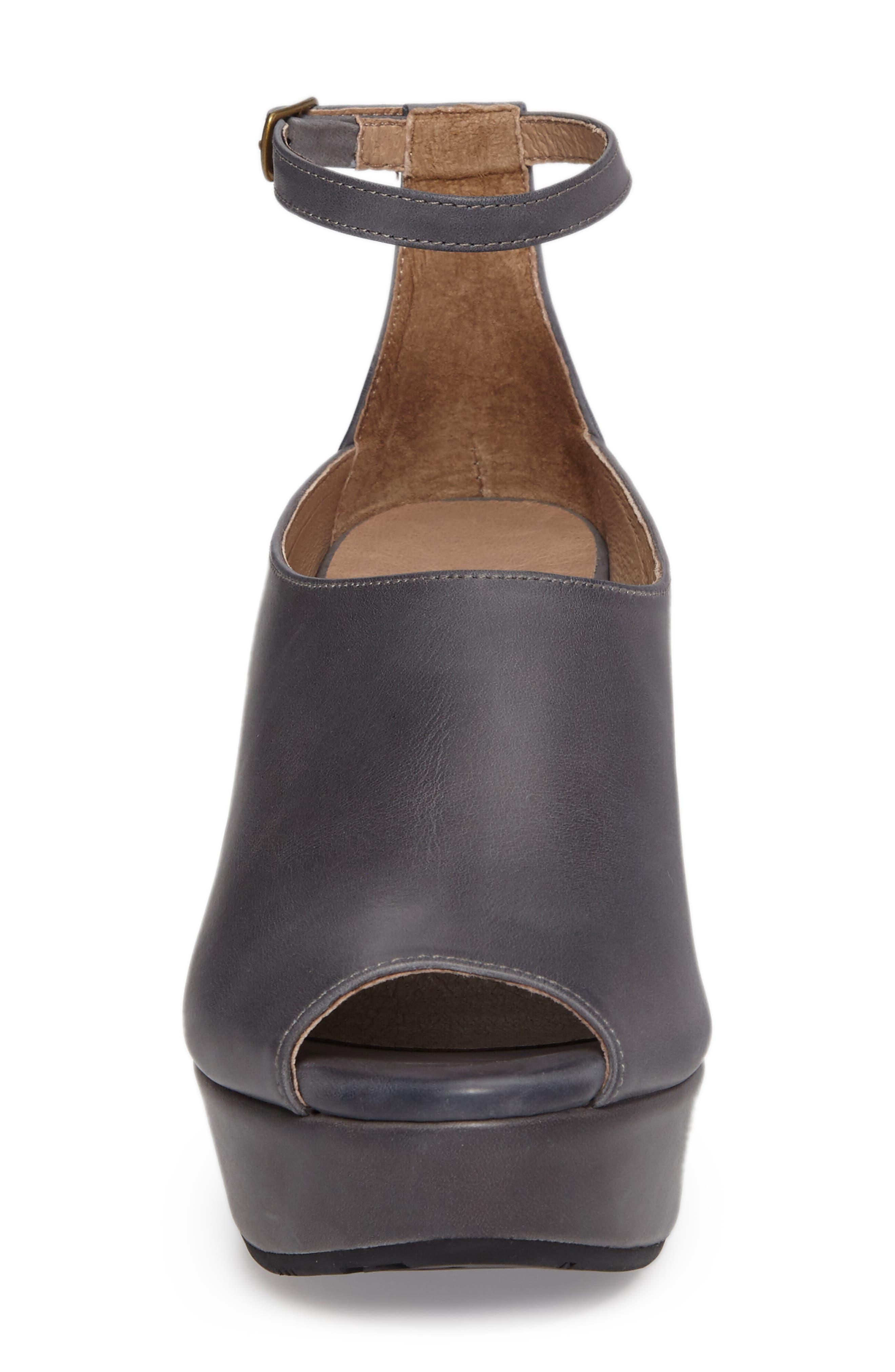 Alternate Image 4  - Chocolat Blu Walter Ankle Strap Wedge Sandal (Women)