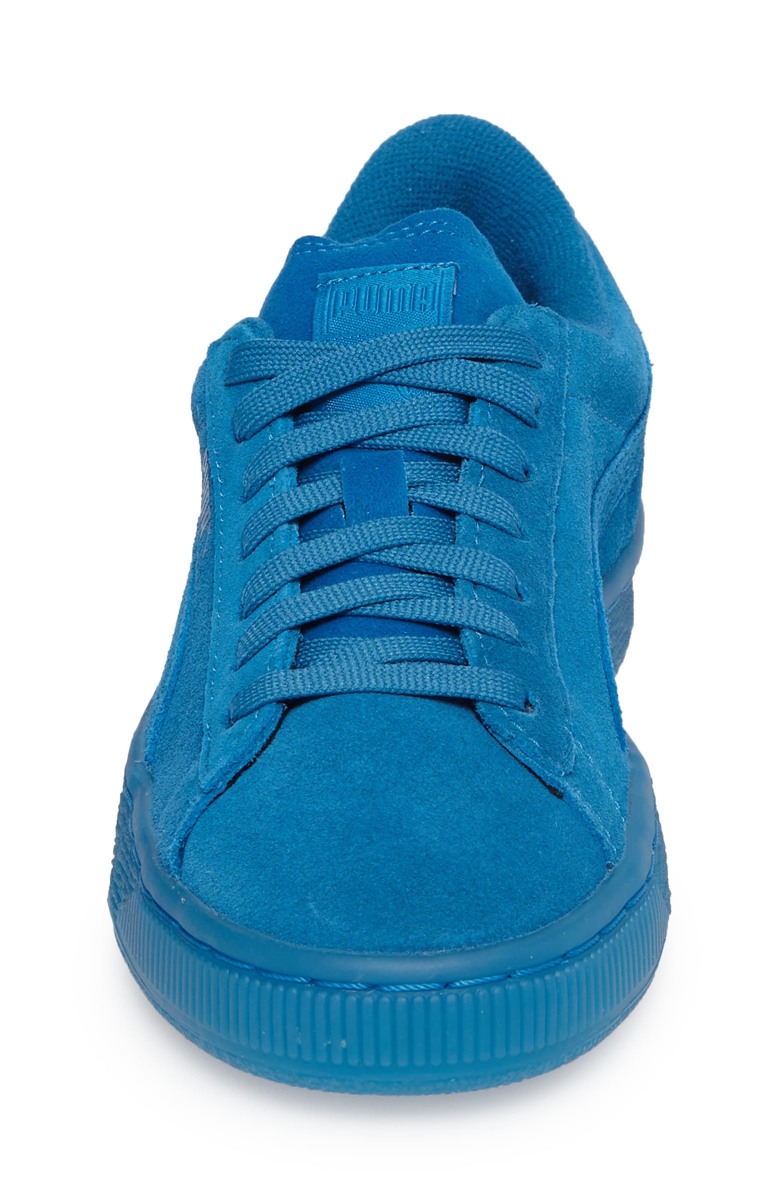 Alternate Image 4  - PUMA 'Suede Iced' Sneaker (Baby, Walker, Toddler, Little Kid & Big Kid)