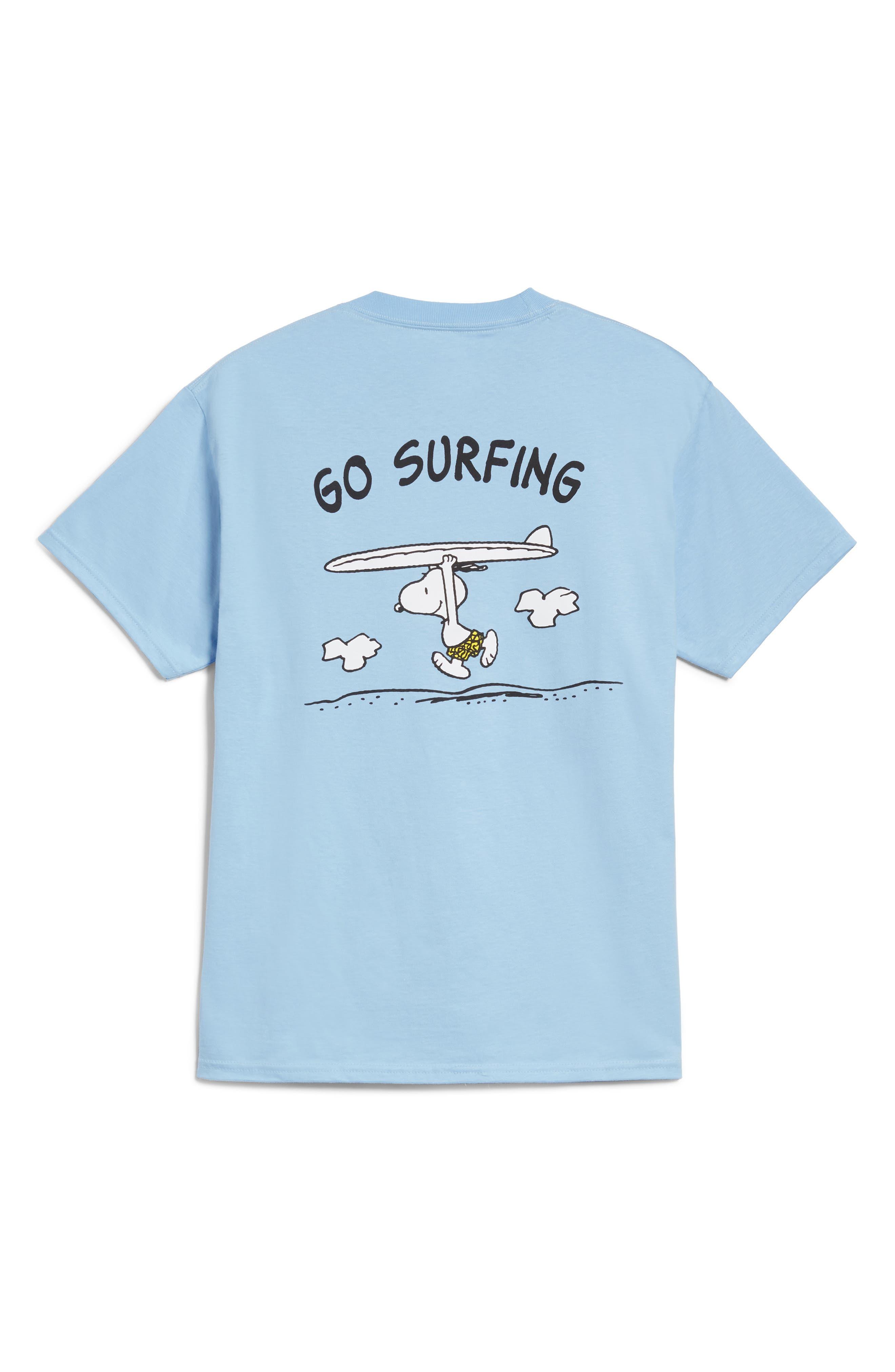 HANES Peanuts Go Surfing T-Shirt