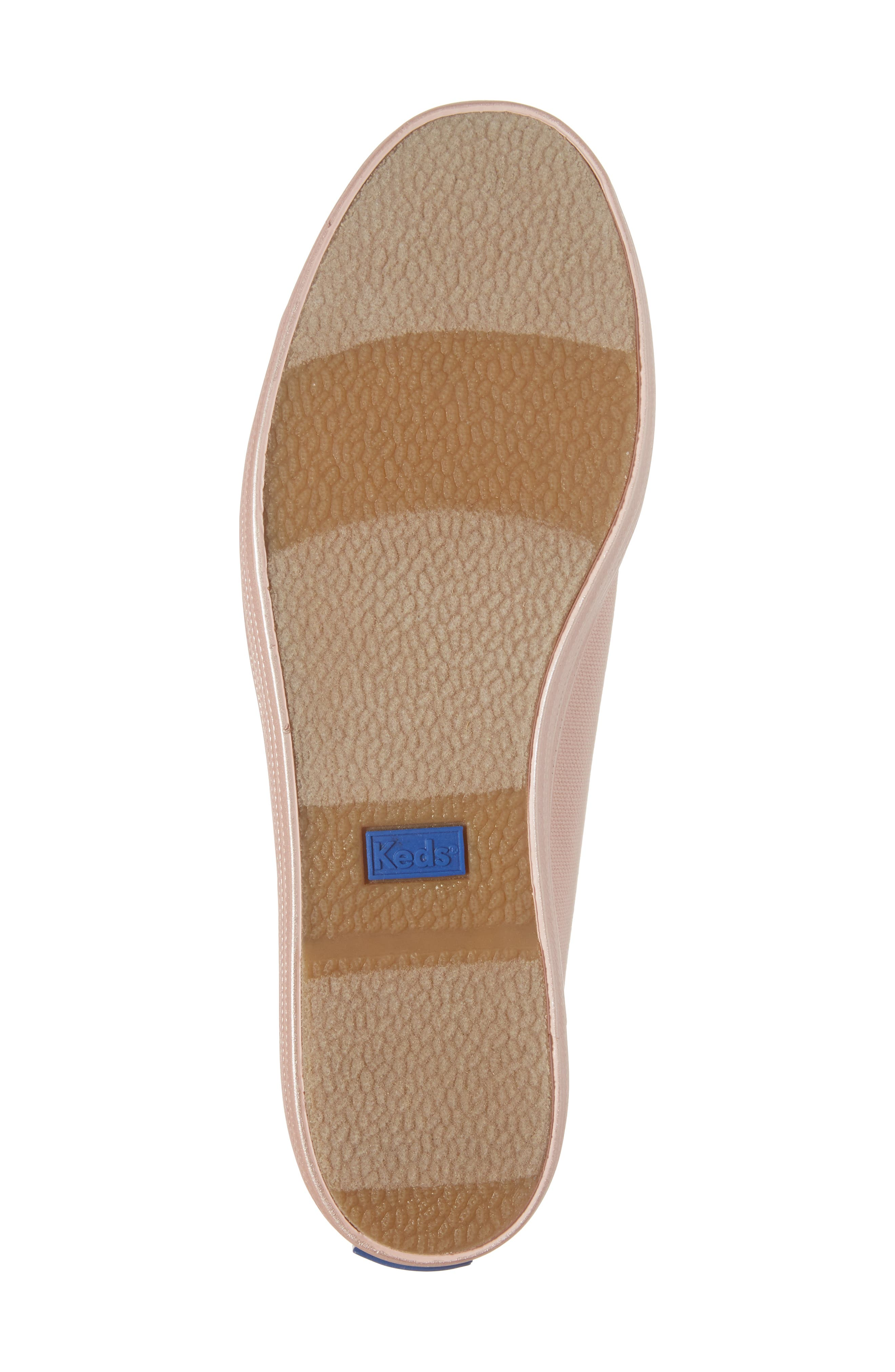 Alternate Image 6  - Keds® Triple Shimmer Platform Sneaker (Women)