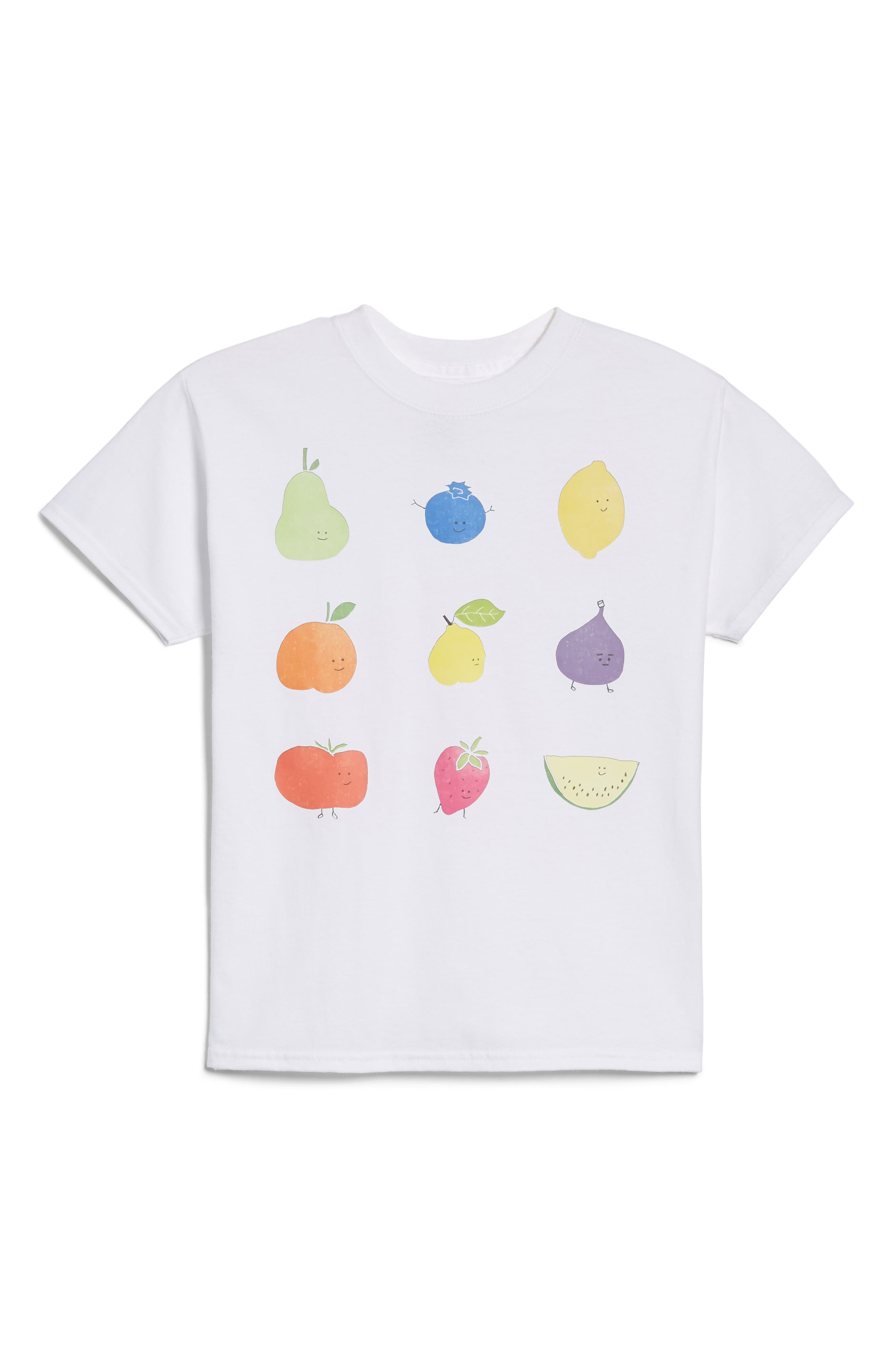 Alessandra Olanow Assorted Fruits T-Shirt (Toddler, Little Kid & Big Kid)