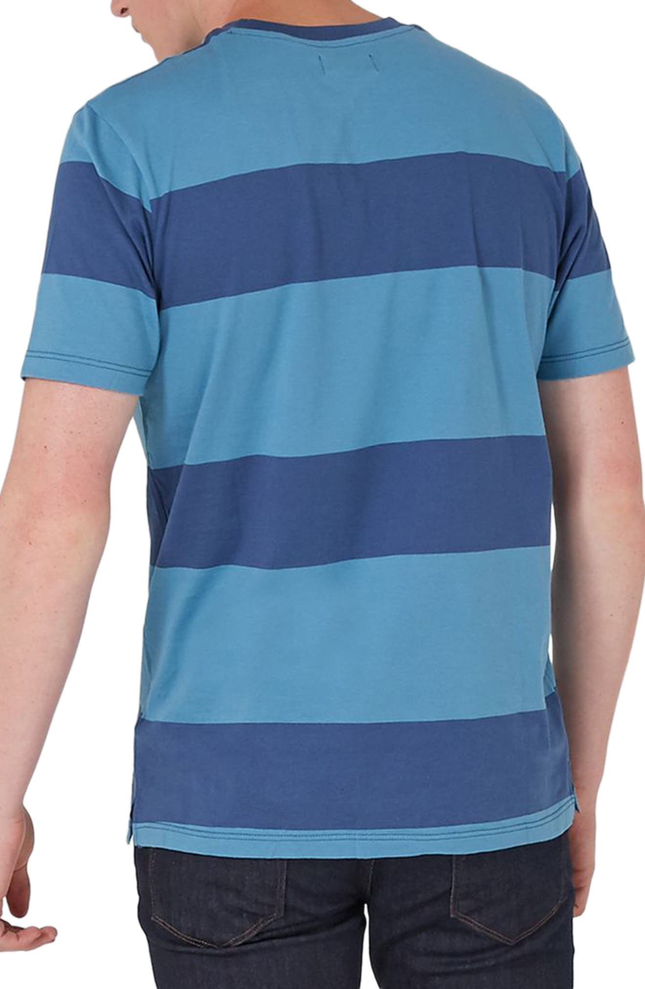 Alternate Image 2  - Topman Stripe T-Shirt